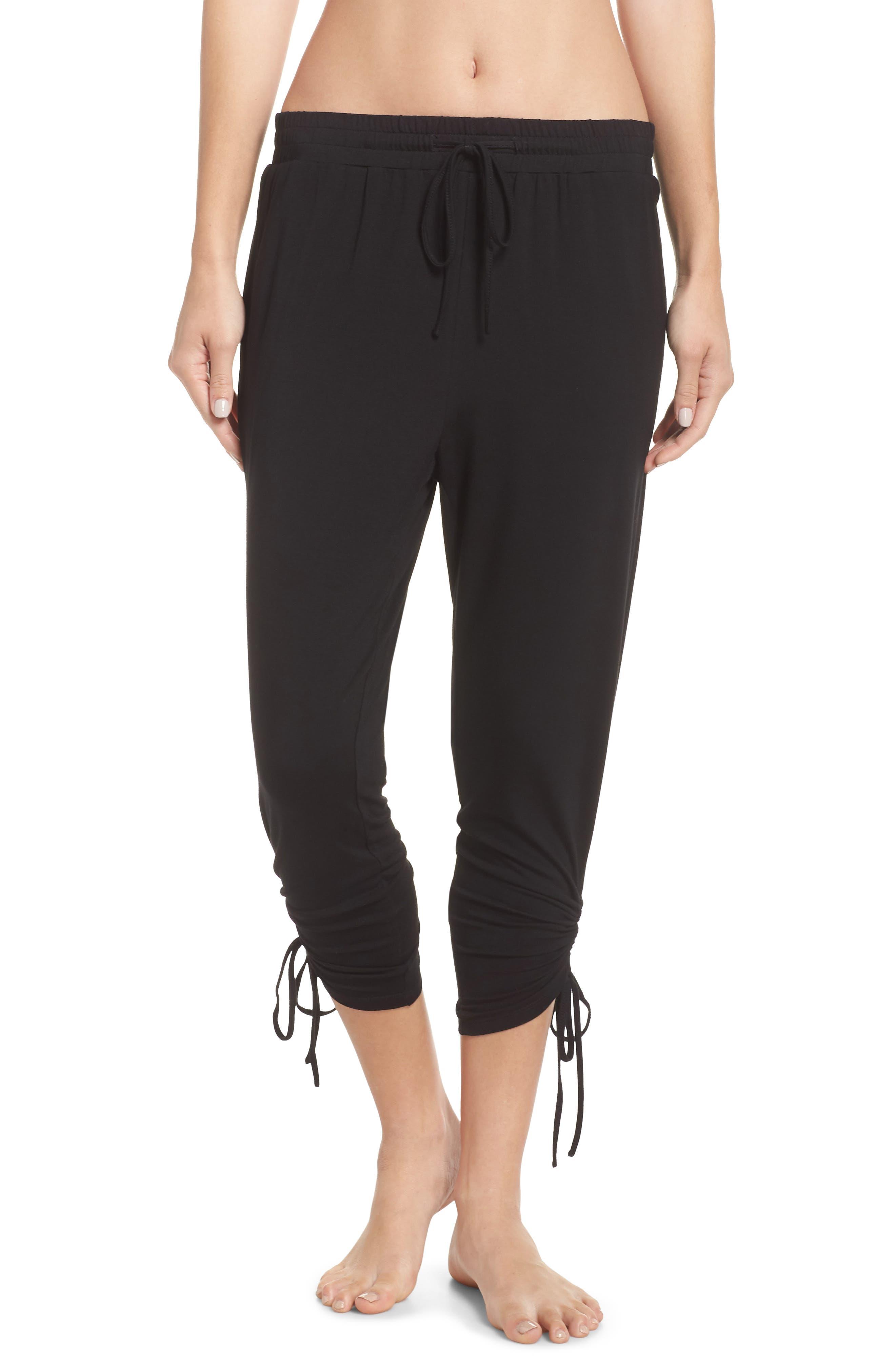 In a Cinch Jogger Pants,                         Main,                         color, BLACK