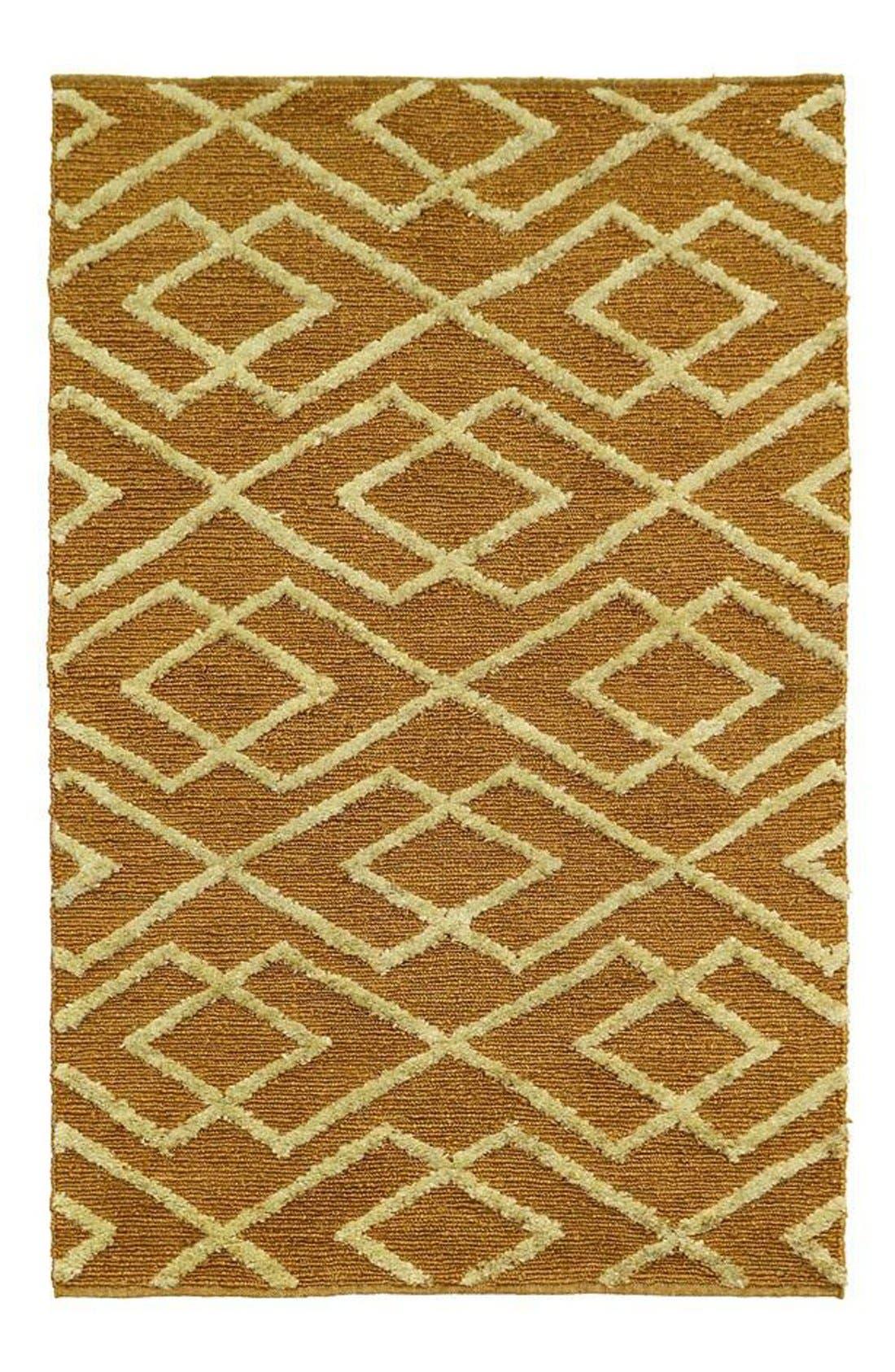Soumak Aura Handwoven Rug,                             Main thumbnail 3, color,