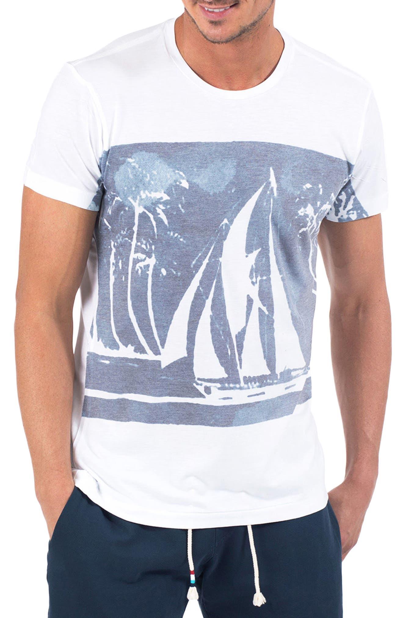 Midnight Sail T-Shirt,                             Main thumbnail 1, color,                             100