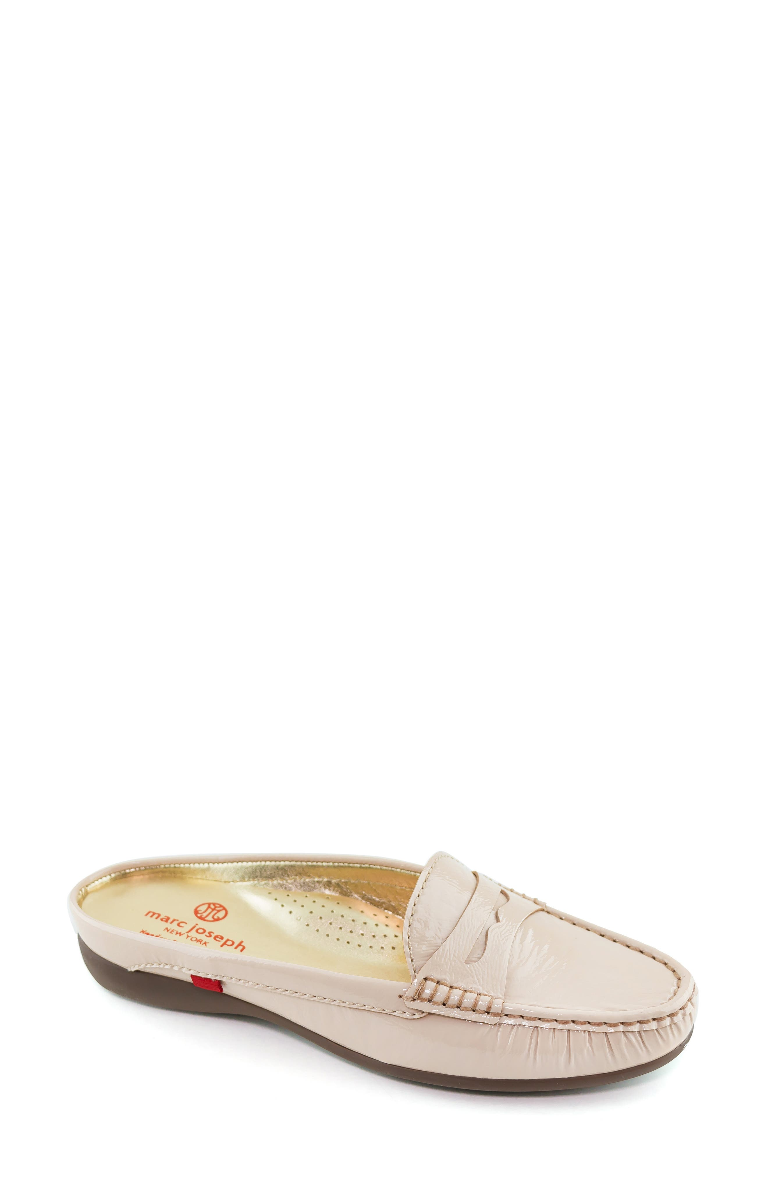 Union Street Mule,                             Main thumbnail 1, color,                             NUDE PATENT