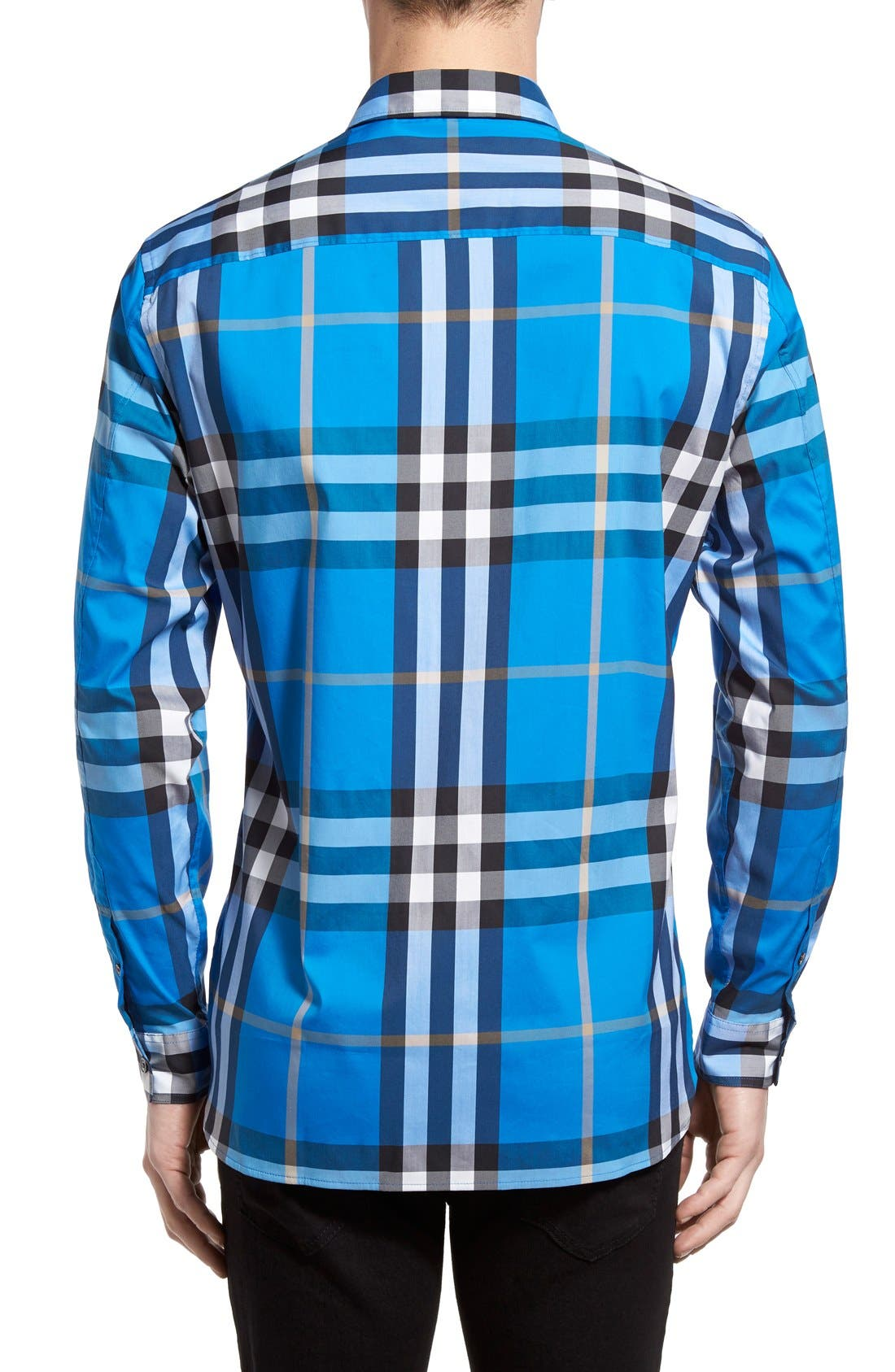 Nelson Check Sport Shirt,                             Alternate thumbnail 43, color,