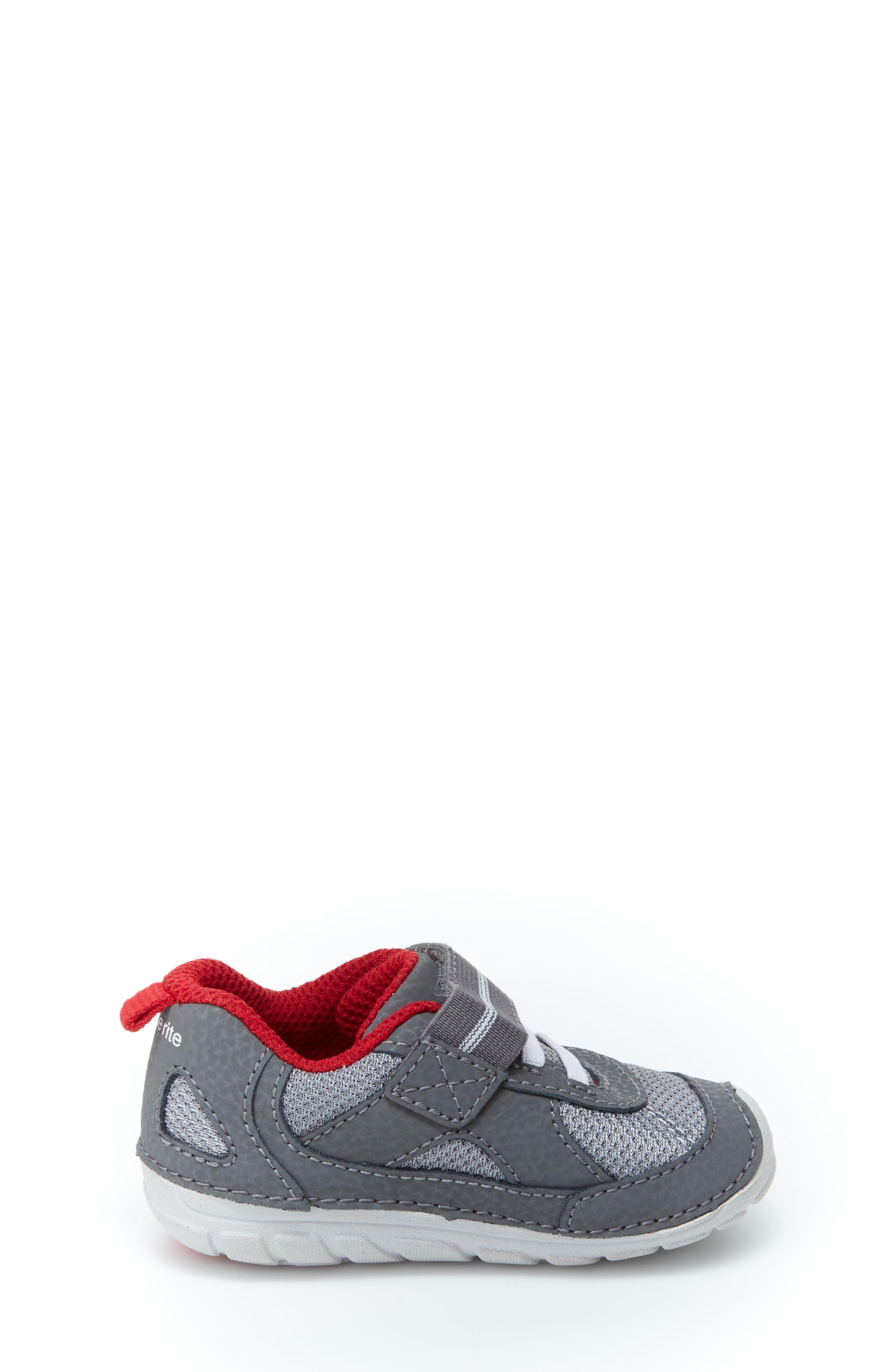 Soft Motion<sup>™</sup> Jamie Sneaker,                             Alternate thumbnail 3, color,                             GREY