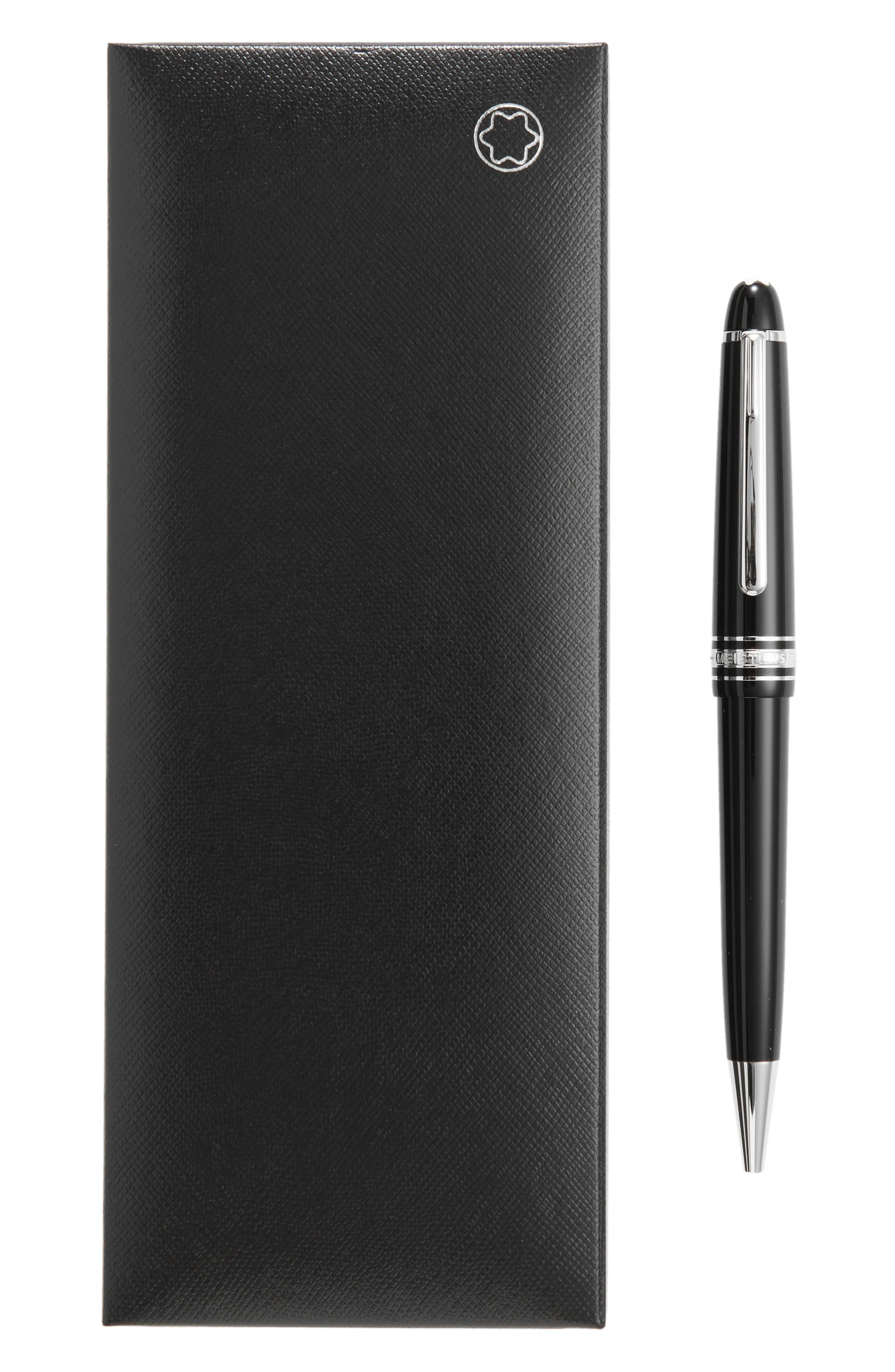 Meisterstück Platinum Coated Midsize Ballpoint Pen,                             Alternate thumbnail 2, color,                             001