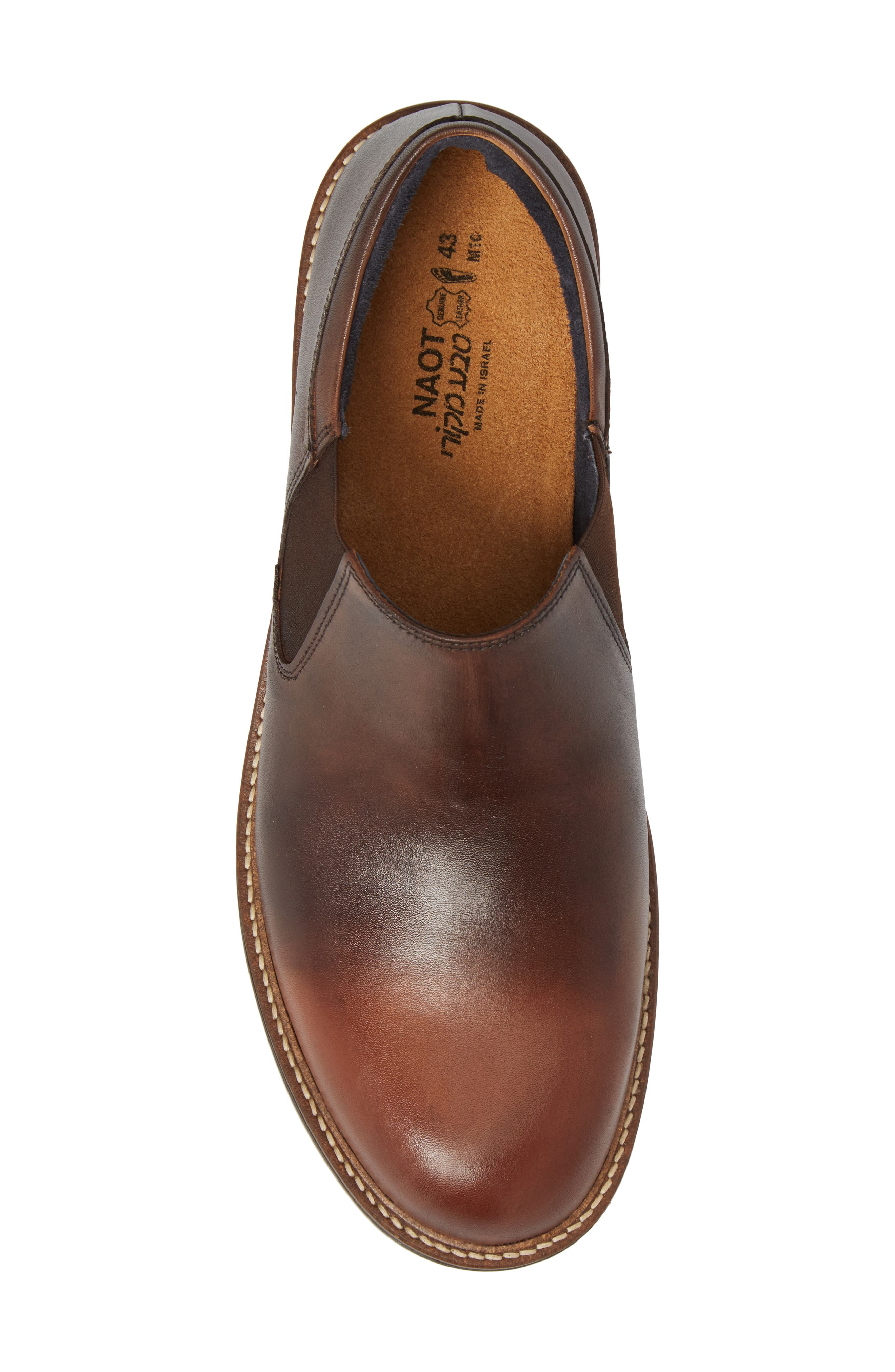 Director Venetian Loafer,                             Alternate thumbnail 5, color,                             BROWN GRADIENT LEATHER