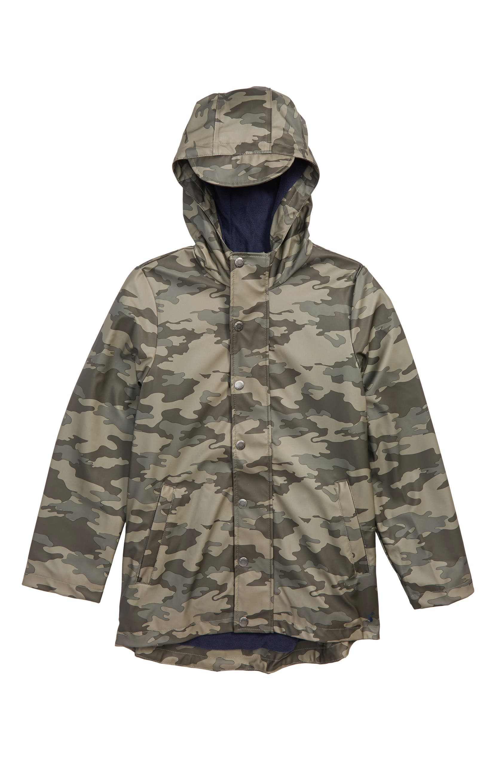 c4522ba3b Joules Camo Waterproof Rubber Raincoat (Big Boys)