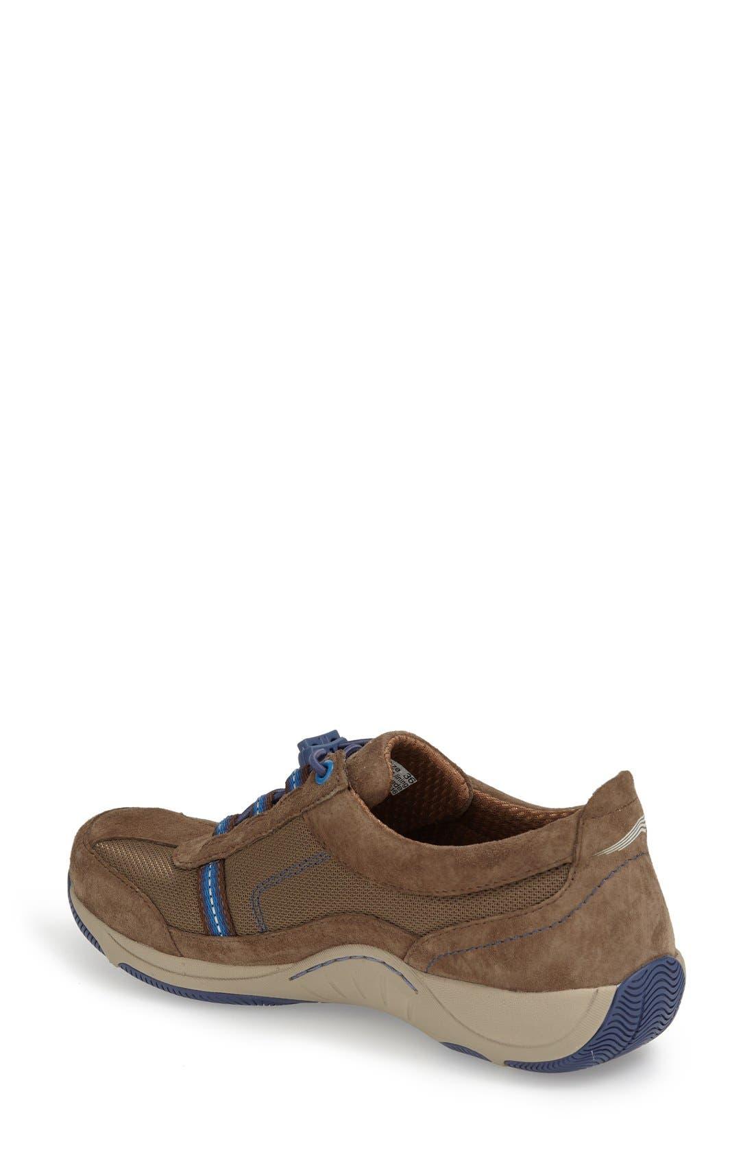 'Helen' Suede & Mesh Sneaker,                             Alternate thumbnail 25, color,