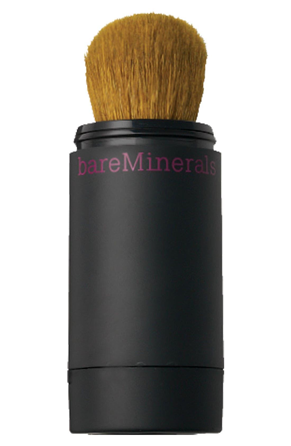 Mineral Veil Mini Refillable Buffing Brush,                             Main thumbnail 1, color,                             000