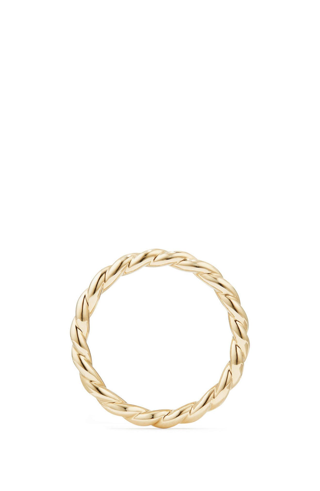 Paveflex Ring in 18K Gold, 2.7mm,                             Alternate thumbnail 2, color,                             YELLOW GOLD