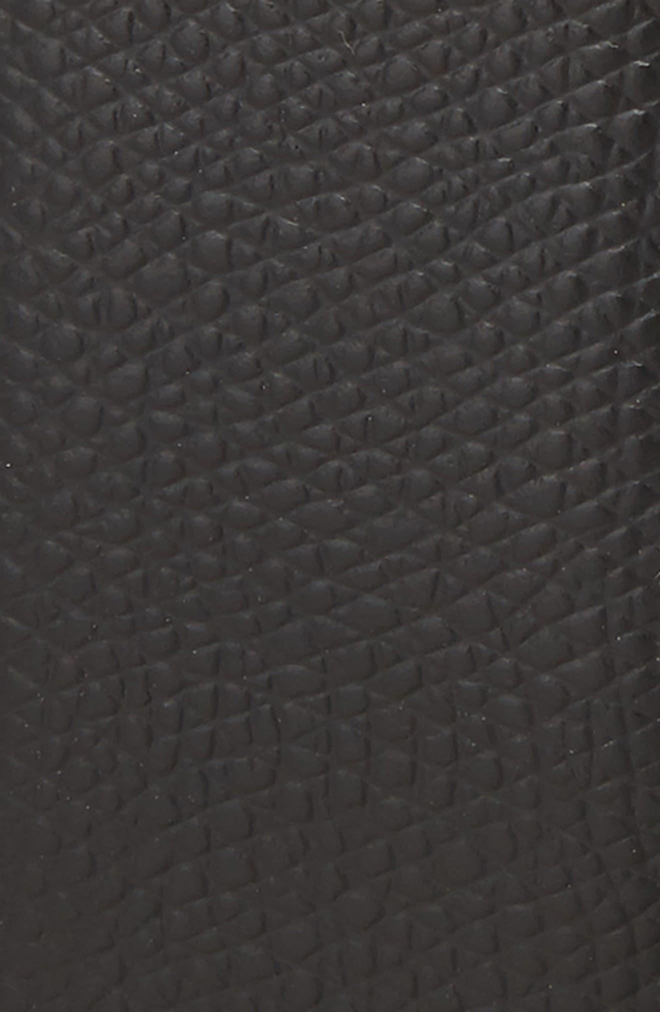 SALVATORE FERRAGAMO,                             Reversible Leather Belt,                             Alternate thumbnail 3, color,                             BLACK/ HICKORY