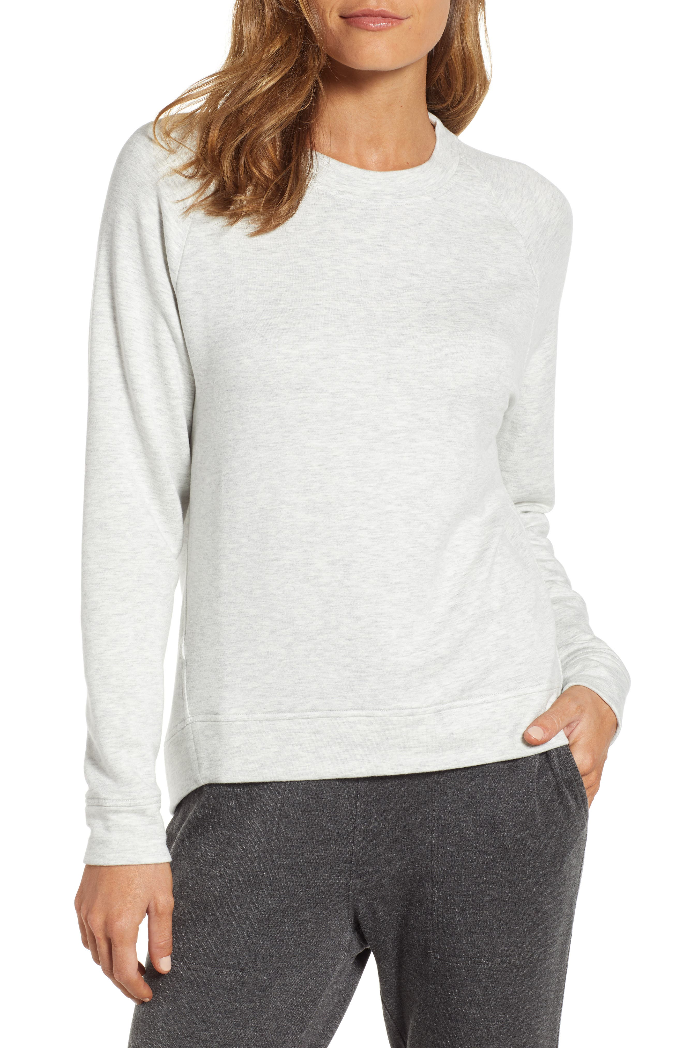 Lou & Grey Zen Bounce Sweatshirt, Grey