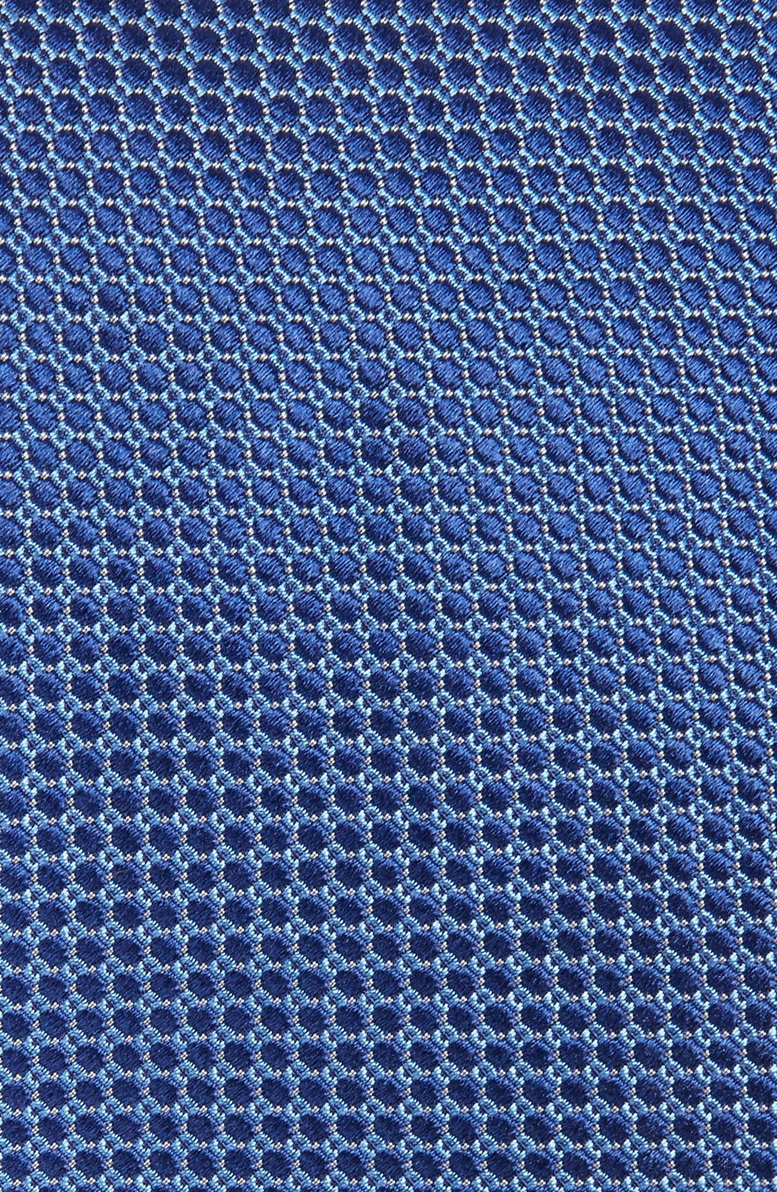 Dot Silk Tie,                             Alternate thumbnail 3, color,                             BLUE