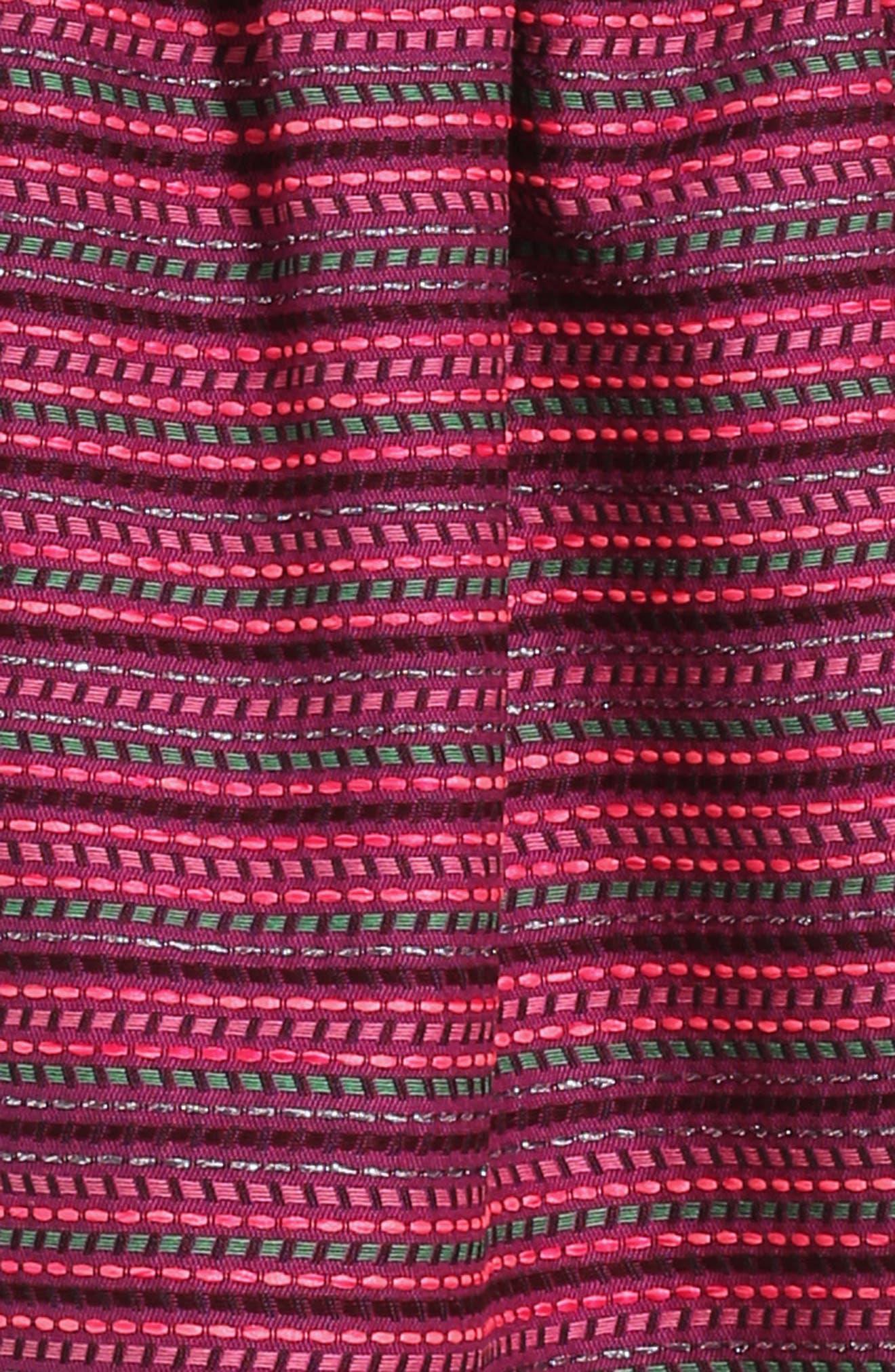 Tiered Sleeveless Dress,                             Alternate thumbnail 3, color,