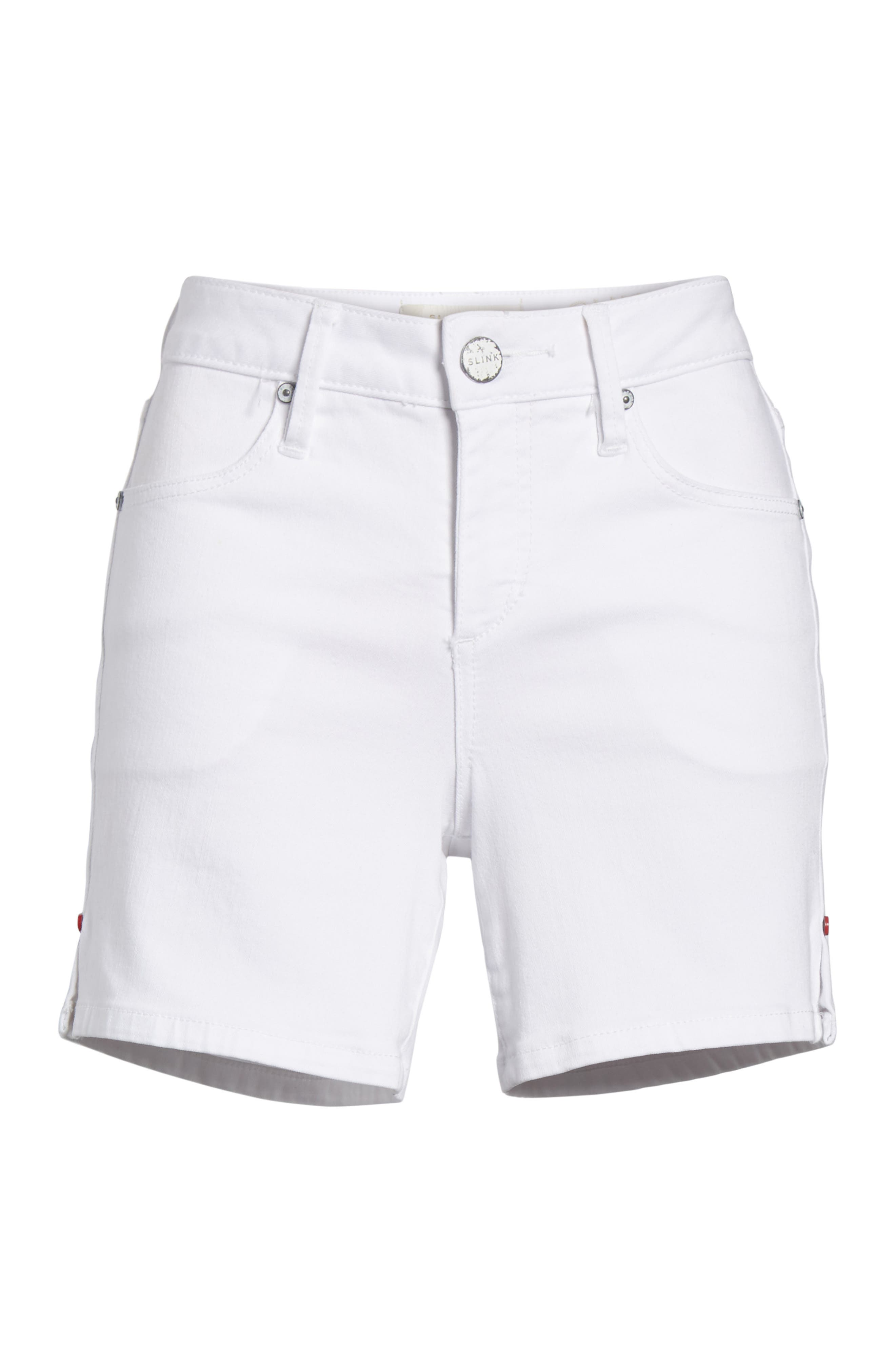 Side Vent Shorts,                             Alternate thumbnail 6, color,                             WHITE