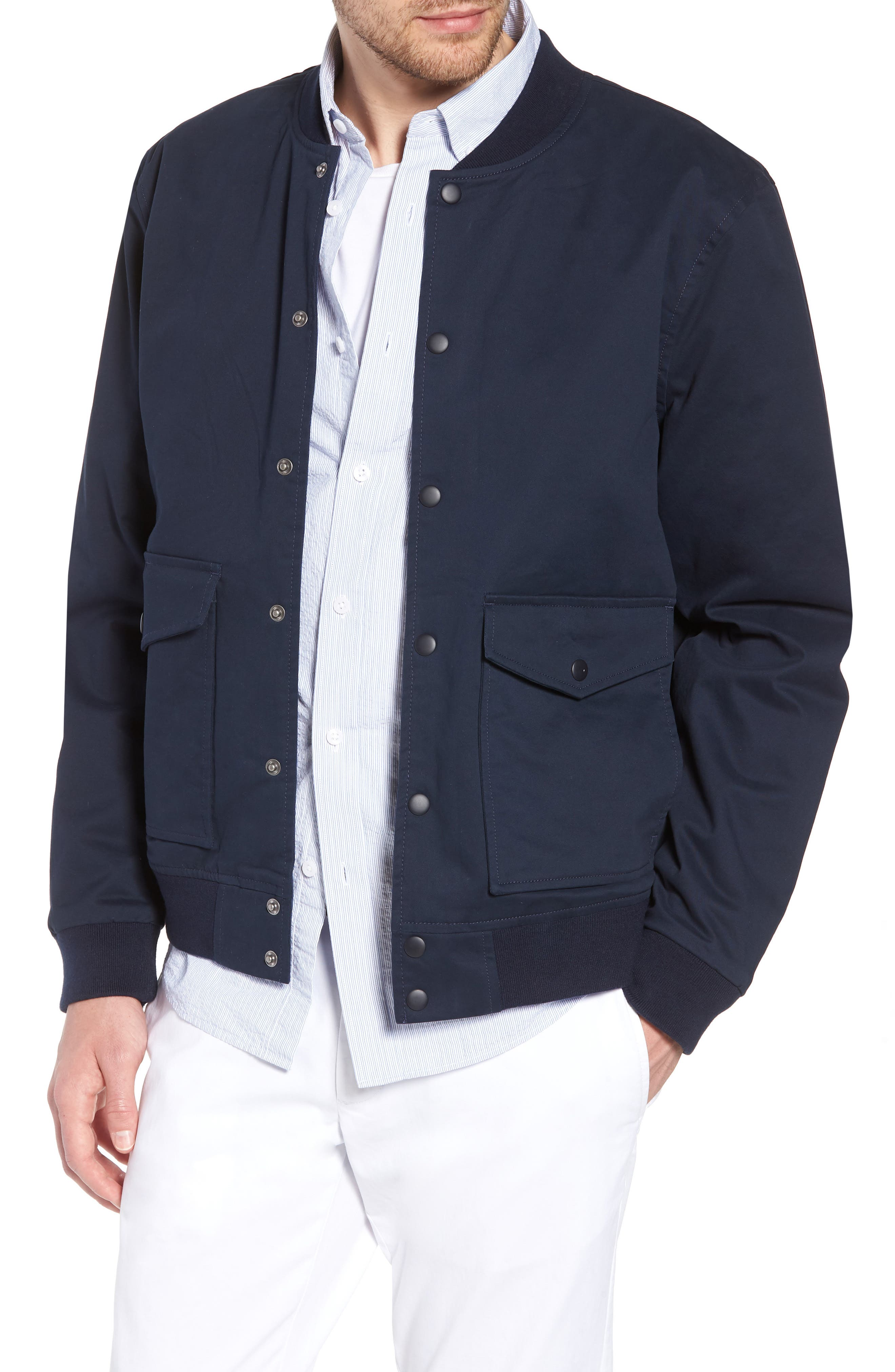 Reversible Bomber Jacket,                         Main,                         color, 410