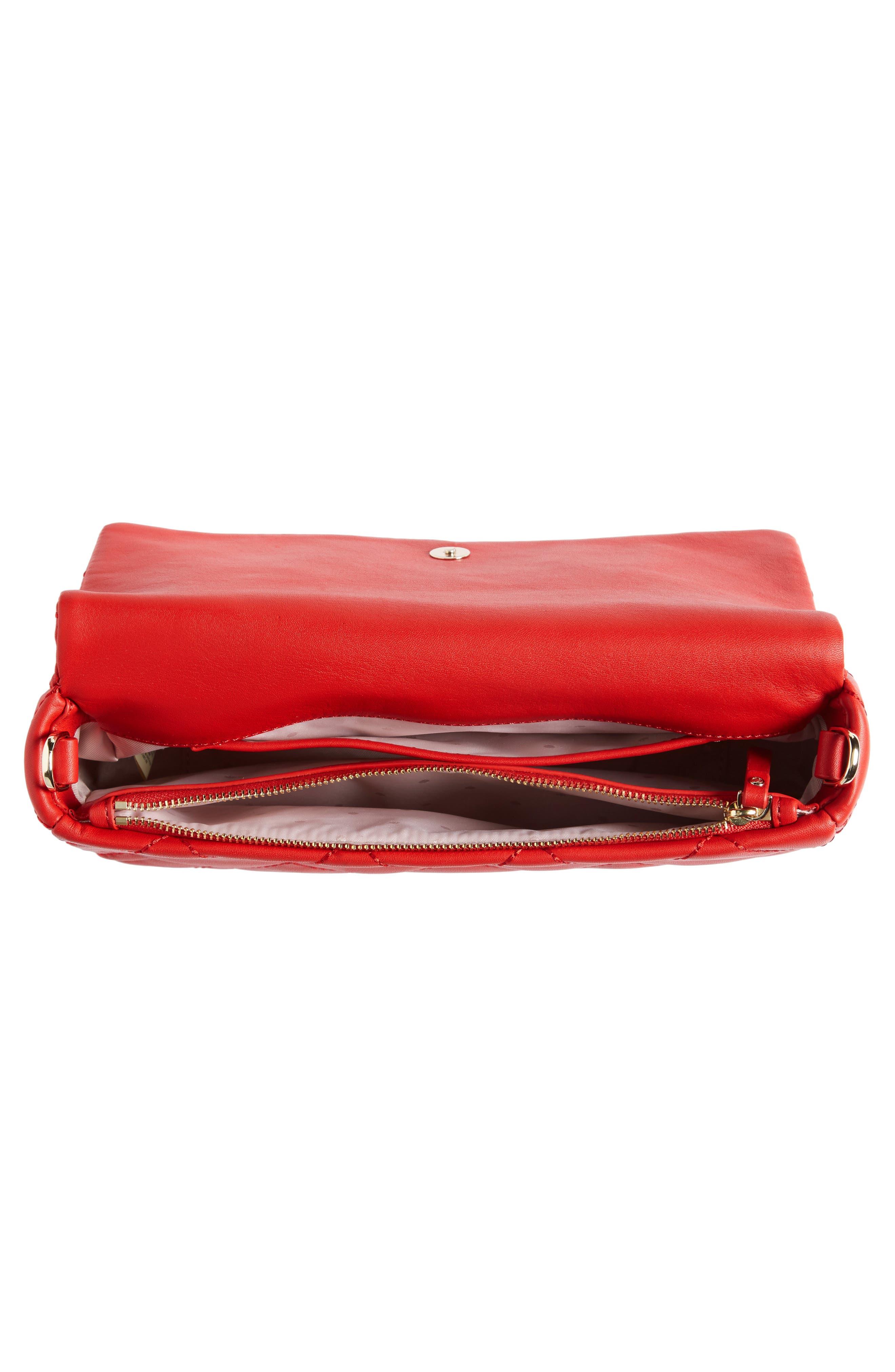 emerson place - serena leather shoulder bag,                             Alternate thumbnail 12, color,
