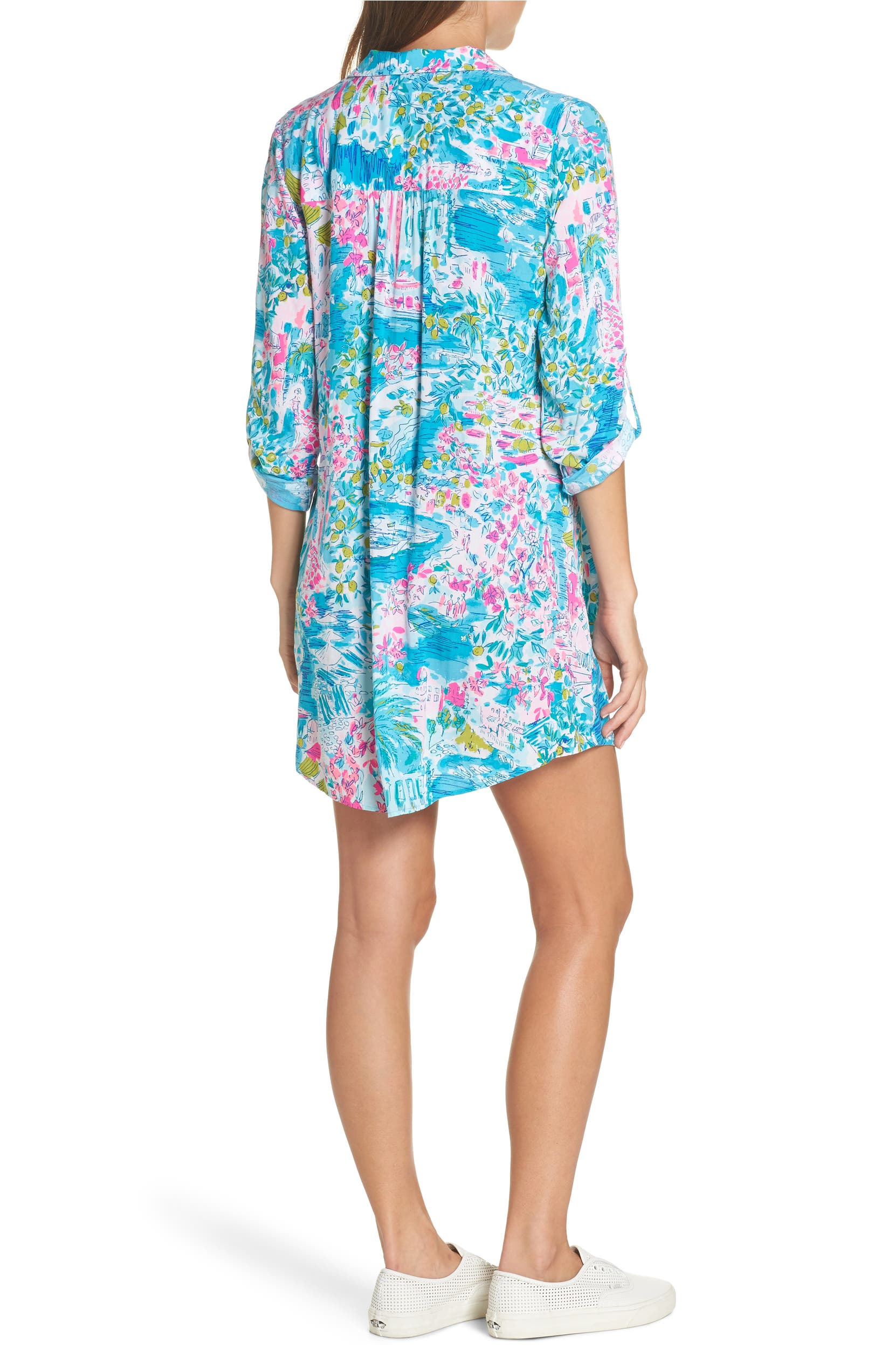 67bccb6ff9e27 Lilly Pulitzer® Natalie Shirtdress Cover-Up