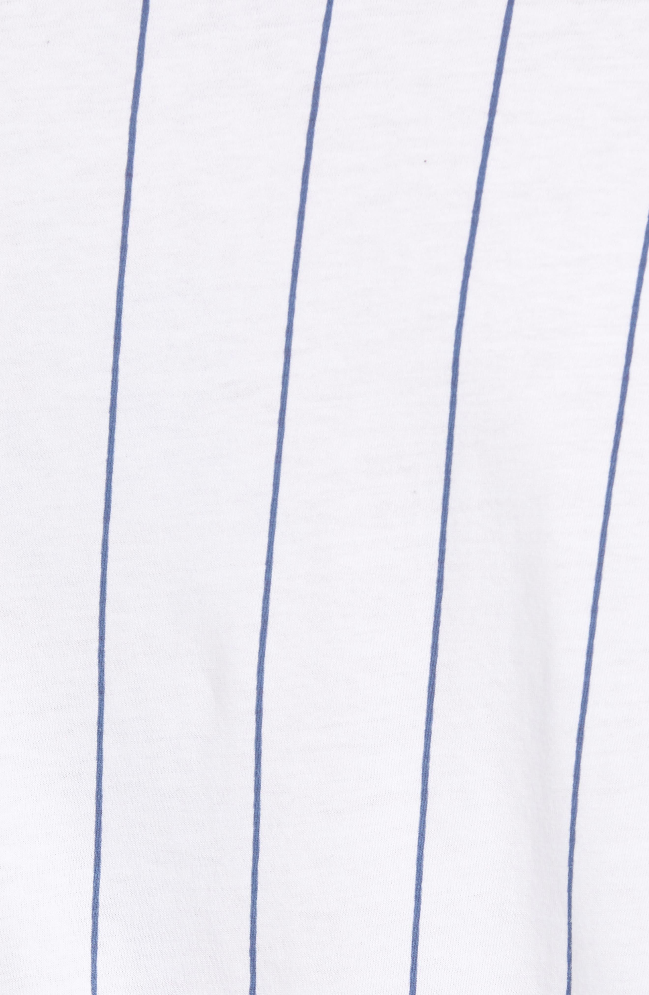 Logo Graphic Baseball T-Shirt,                             Alternate thumbnail 5, color,                             STANDARD WHITE