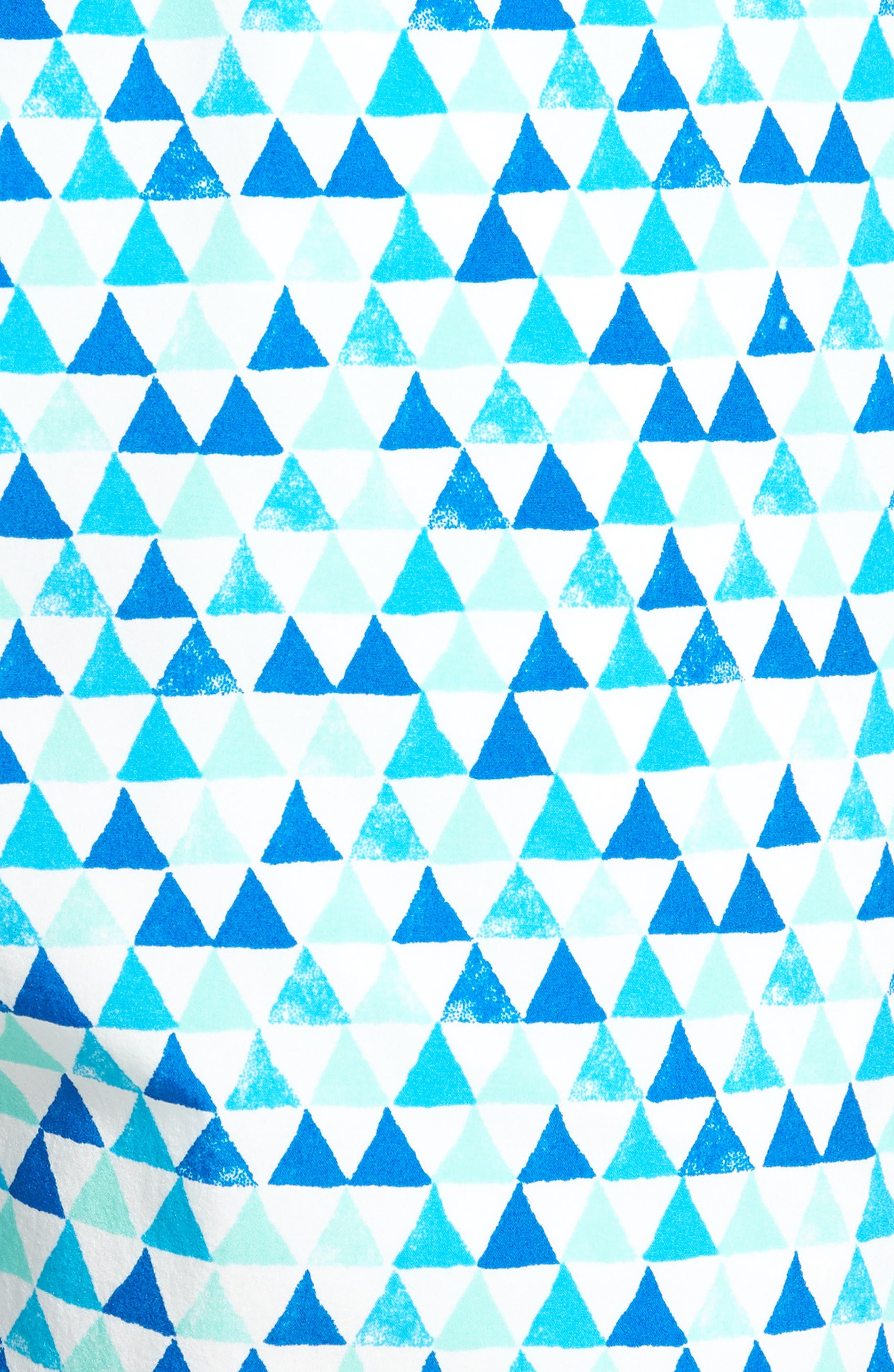 Printer Swim Trunks,                             Alternate thumbnail 9, color,