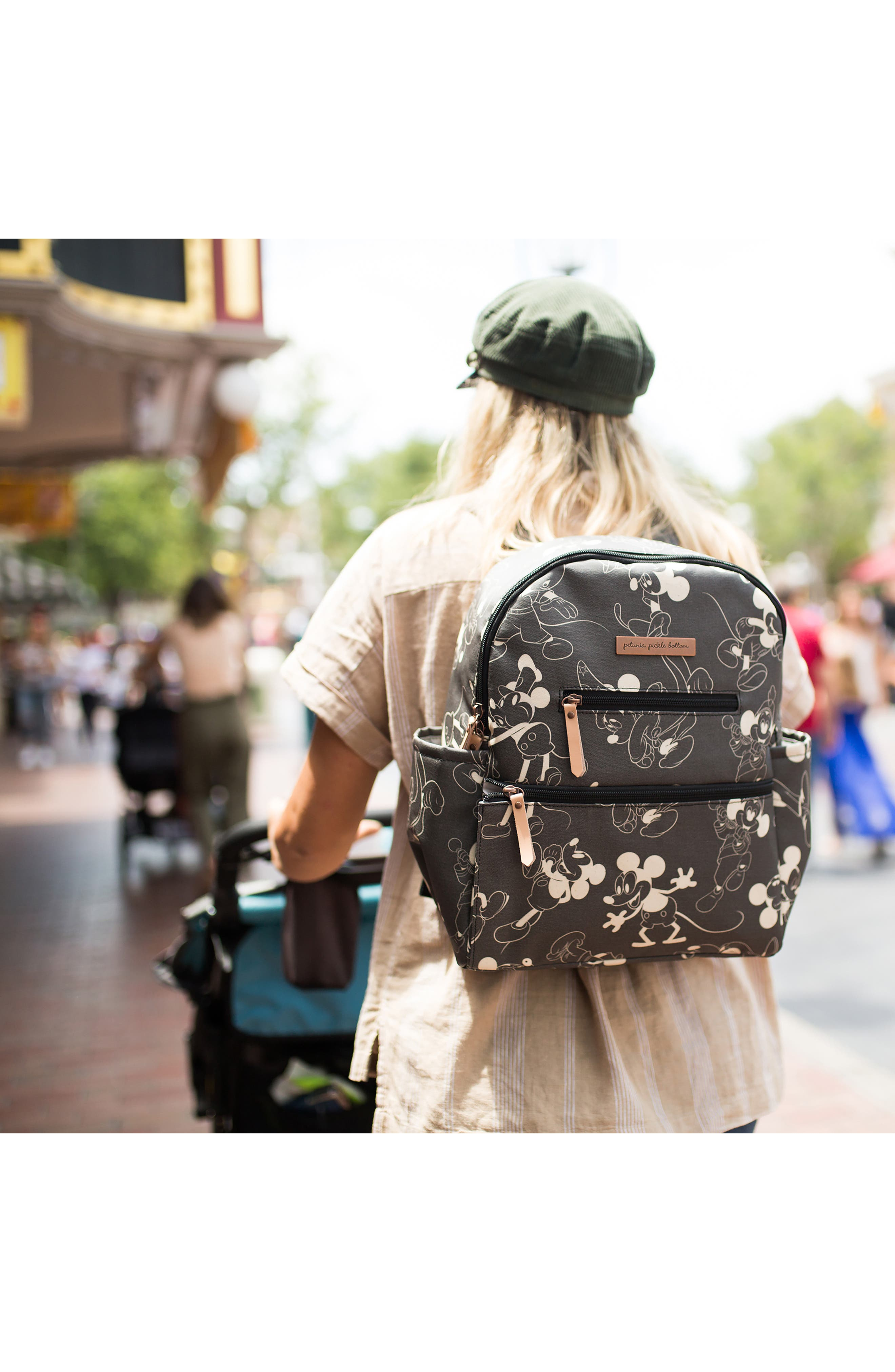 Disney Collaboration Ace Backpack,                             Alternate thumbnail 4, color,                             BLACK