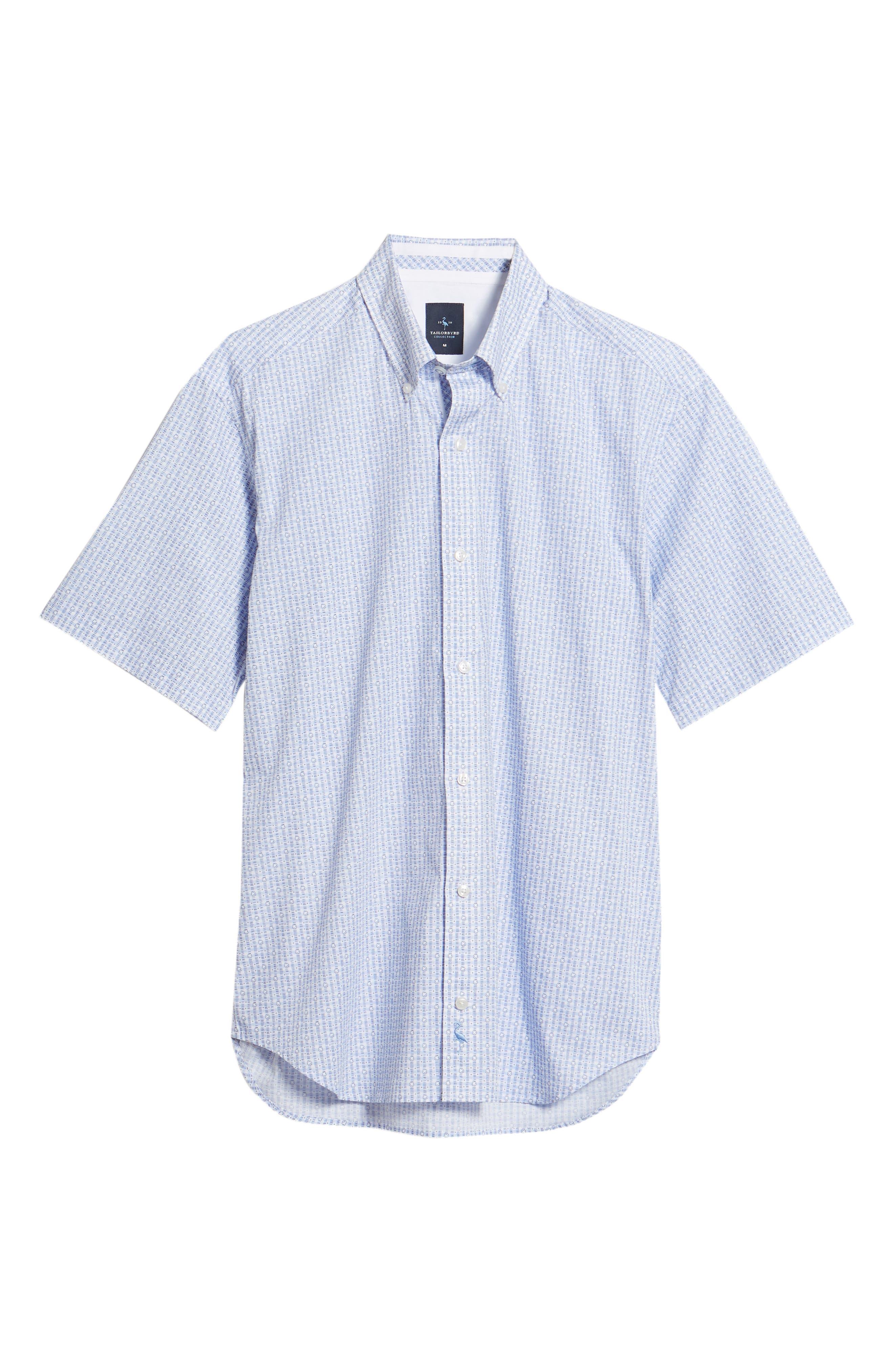 Arnie Regular Fit Sport Shirt,                             Alternate thumbnail 6, color,                             450