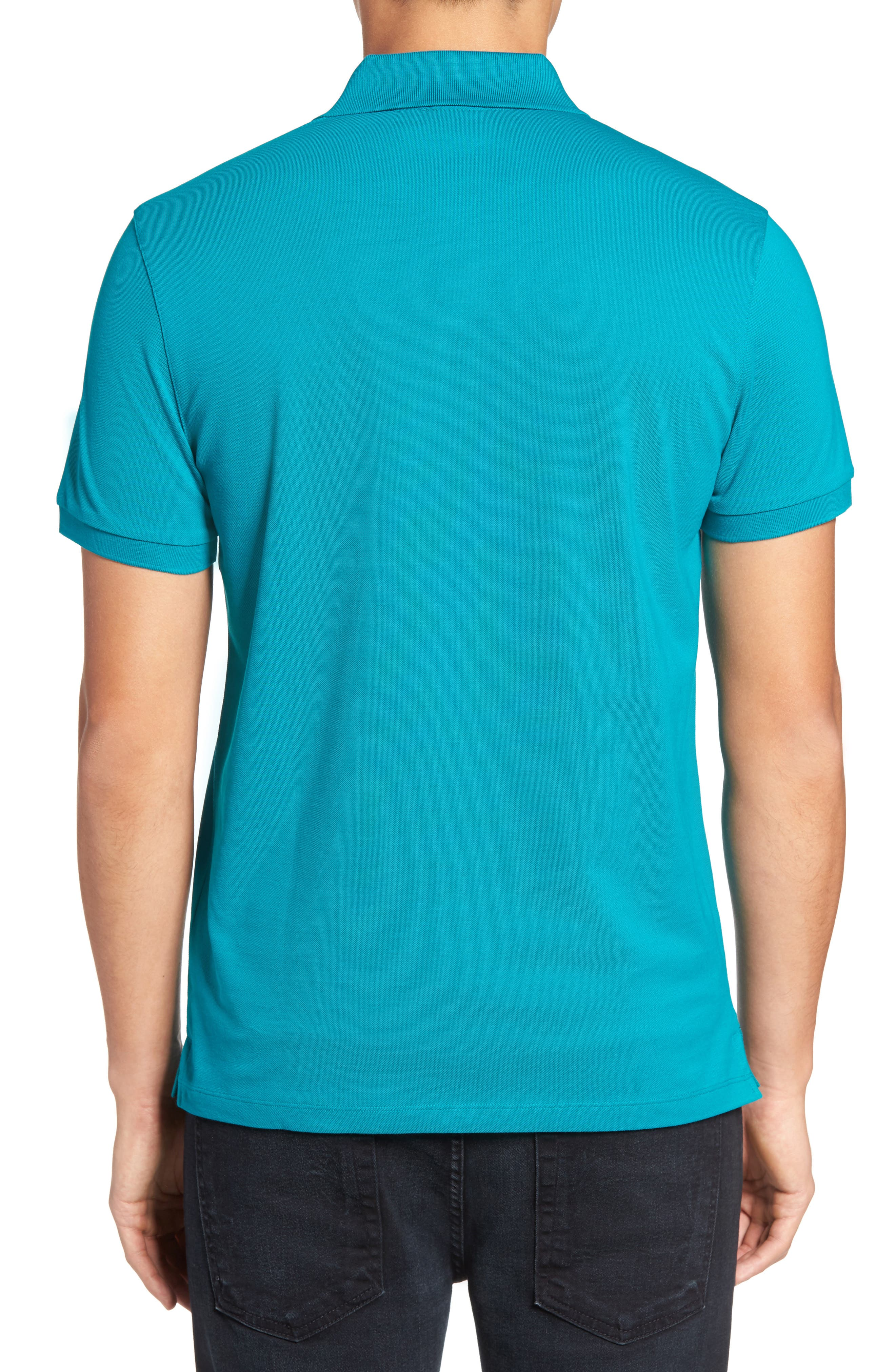 'Pallas' Regular Fit Logo Embroidered Polo Shirt,                             Alternate thumbnail 24, color,
