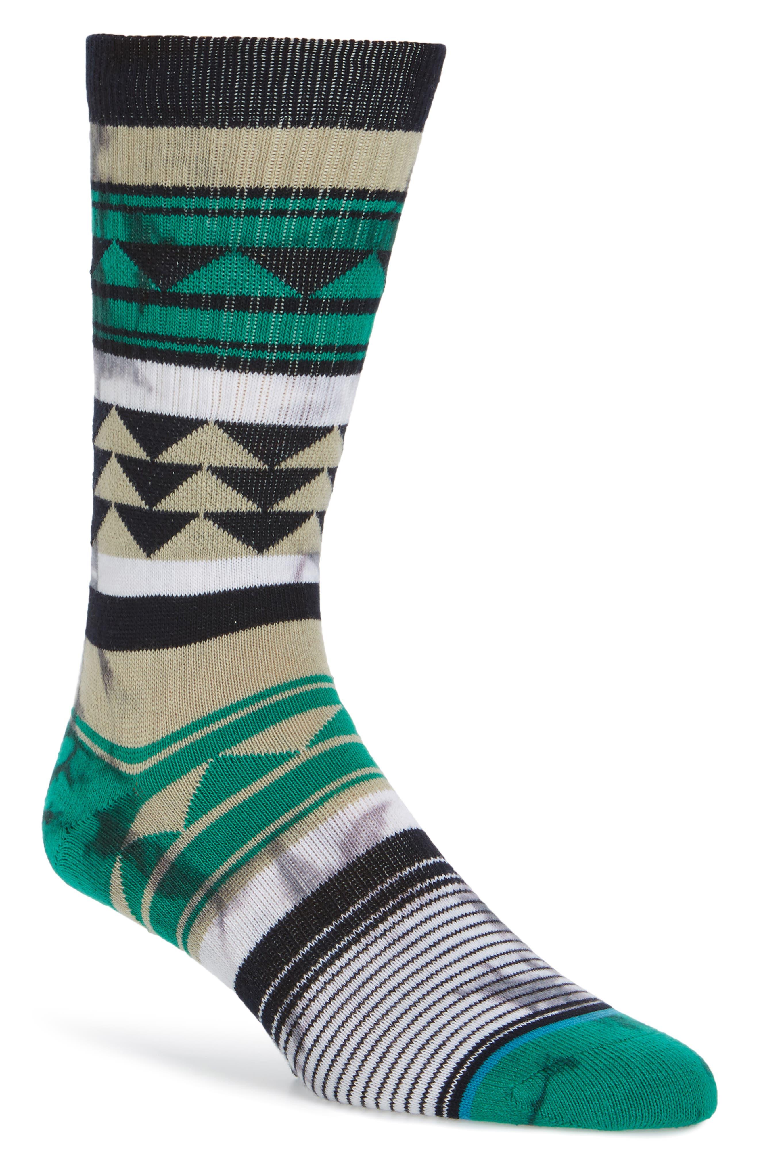 Pachuca Crew Socks,                             Main thumbnail 1, color,                             001