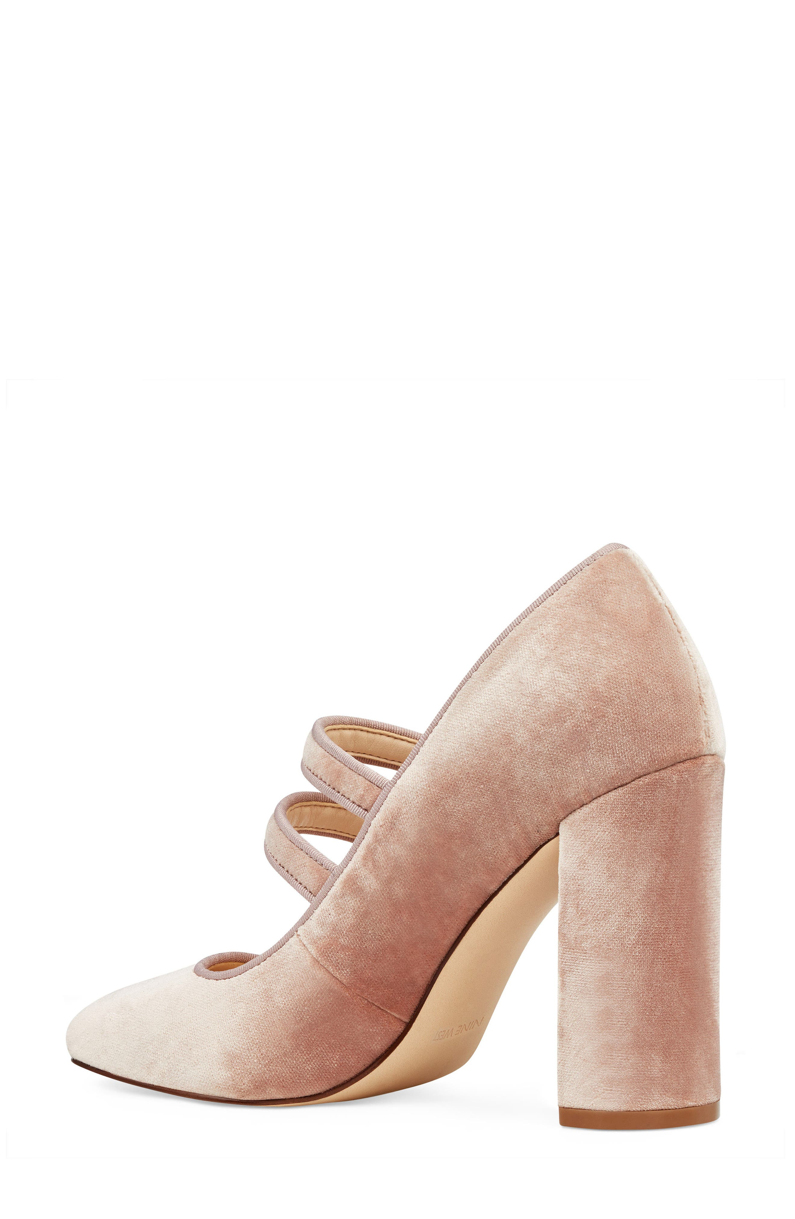 Dabney Double Strap Mary Jane Pump,                             Alternate thumbnail 7, color,