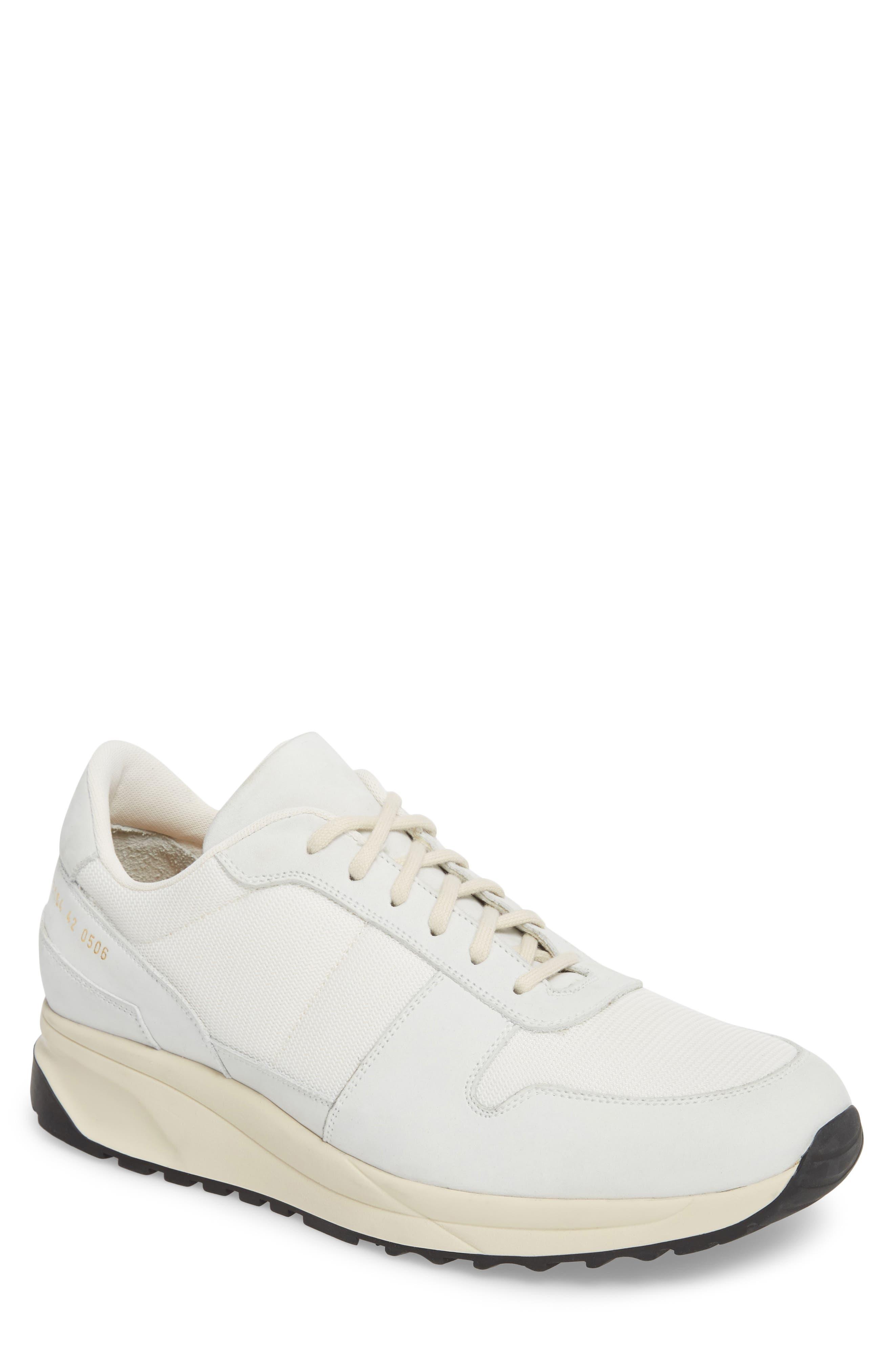 Track Vintage Sneaker,                         Main,                         color, WHITE