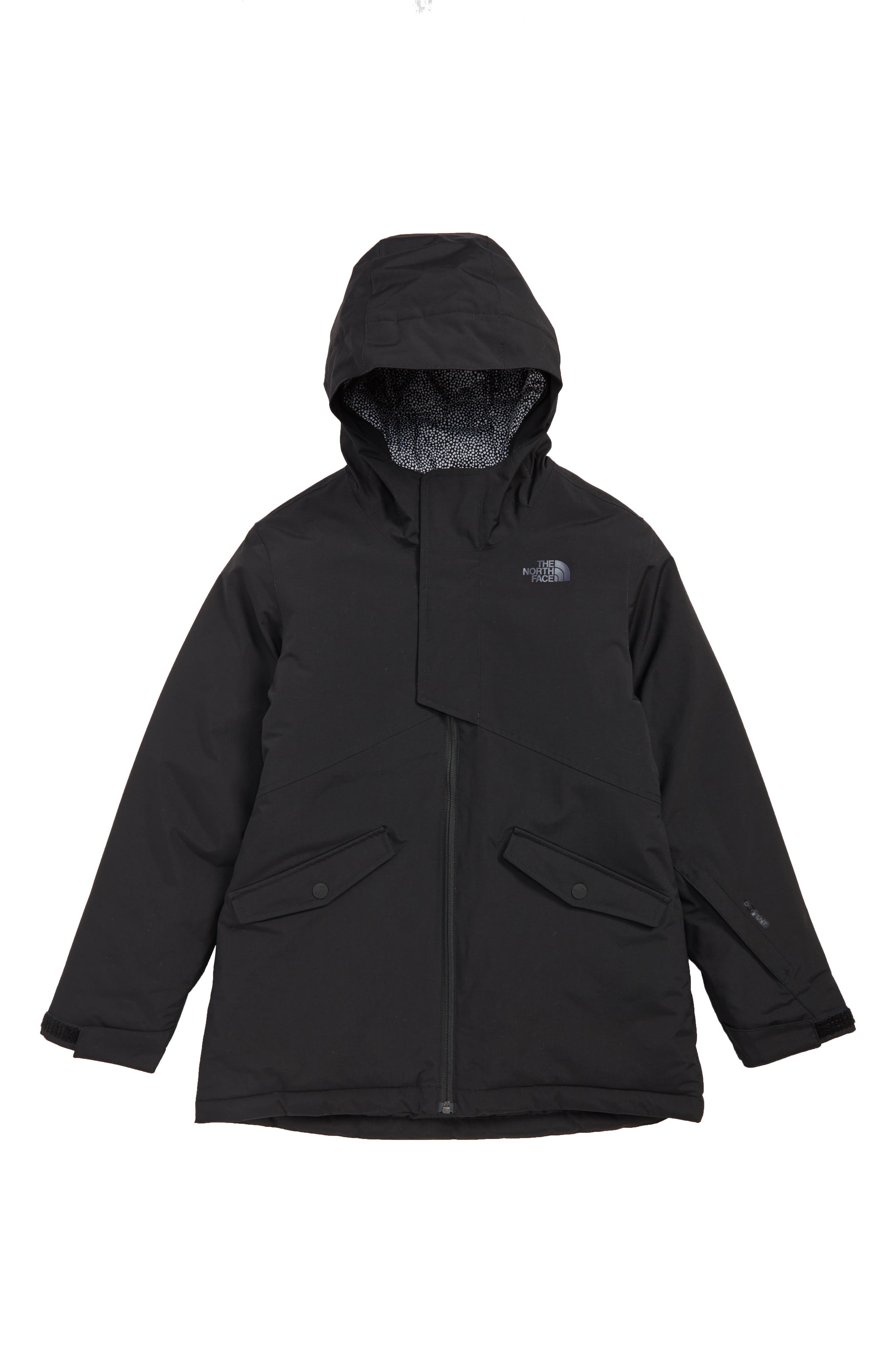 Freedom Waterproof Insulated Snowsports Jacket,                             Main thumbnail 1, color,                             TNF BLACK
