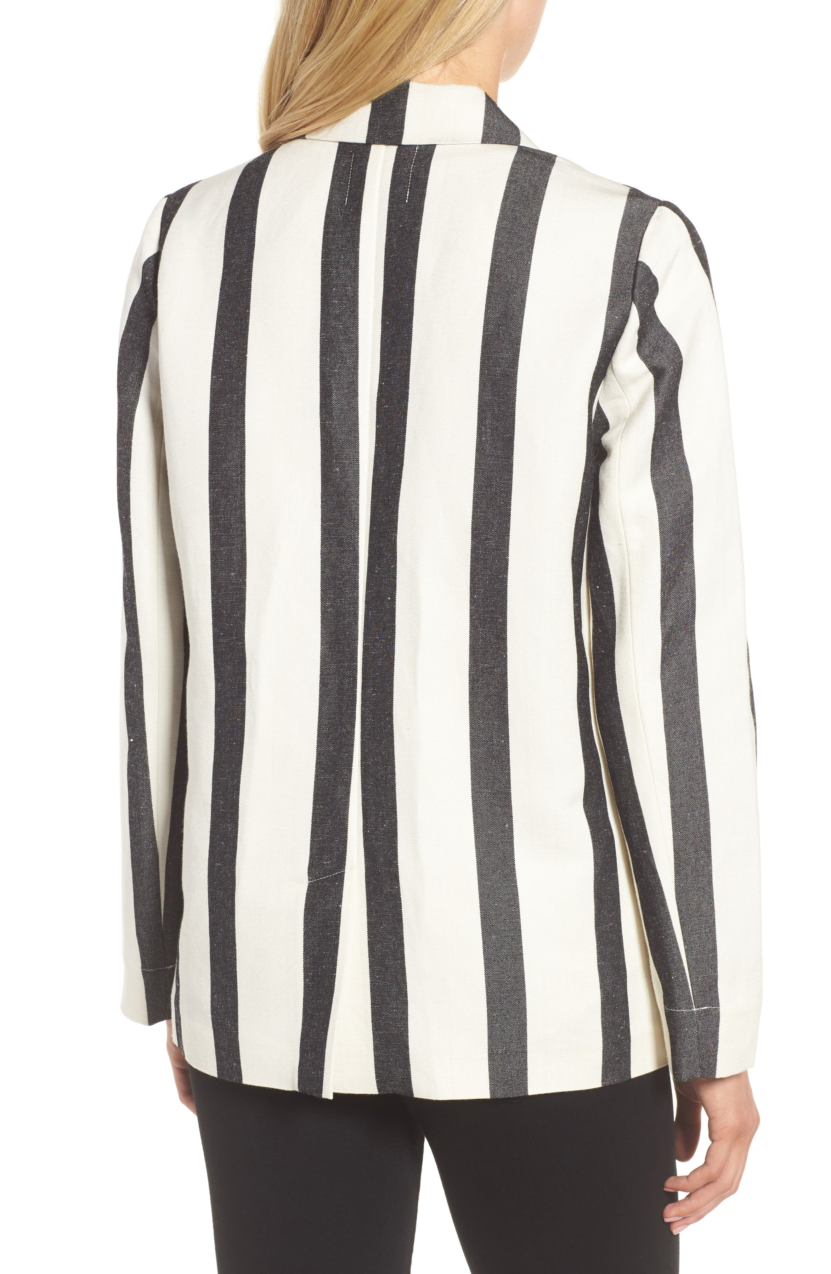 Stripe Blazer,                             Alternate thumbnail 2, color,