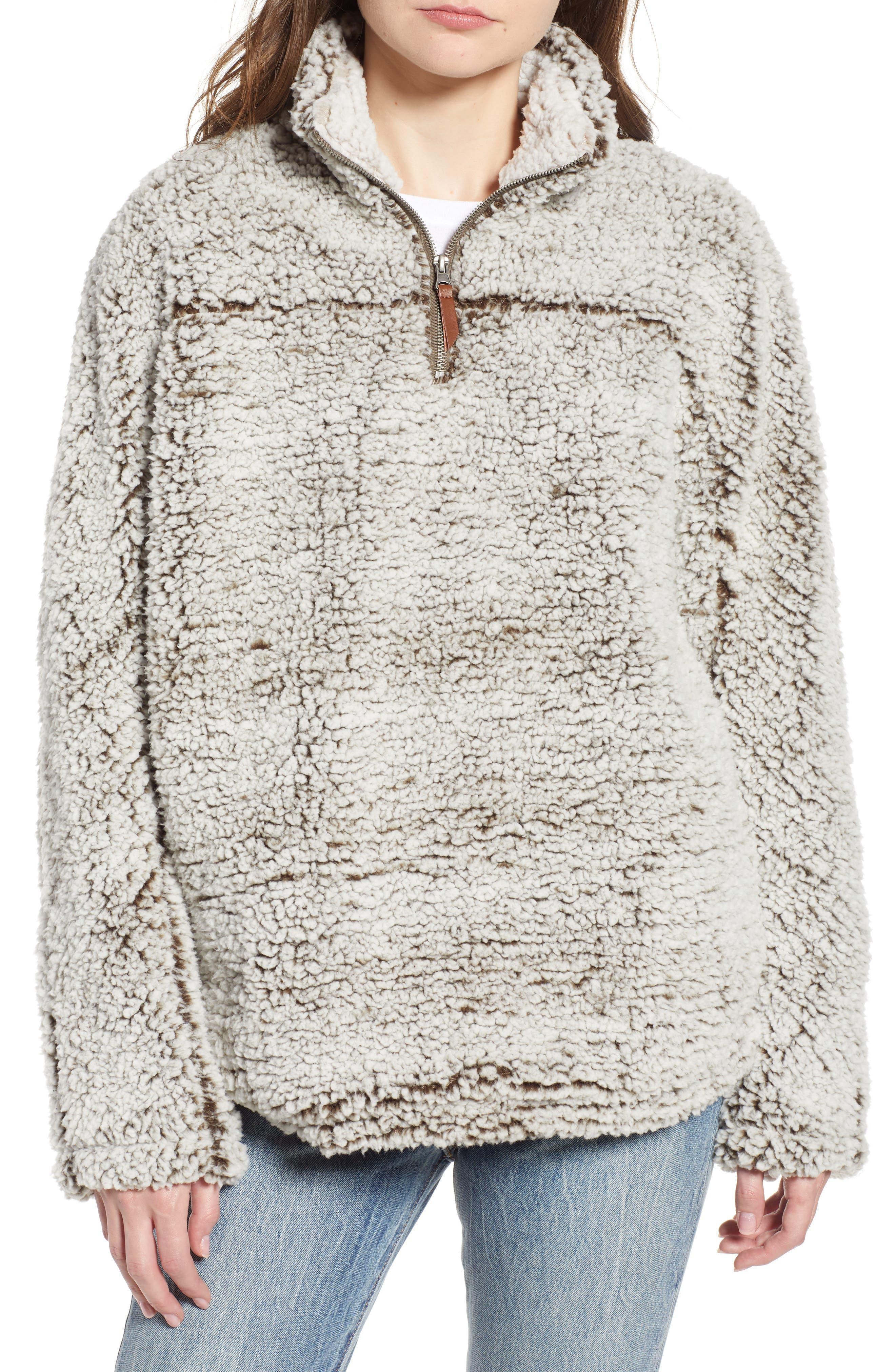 Wubby Fleece Pullover,                             Main thumbnail 4, color,