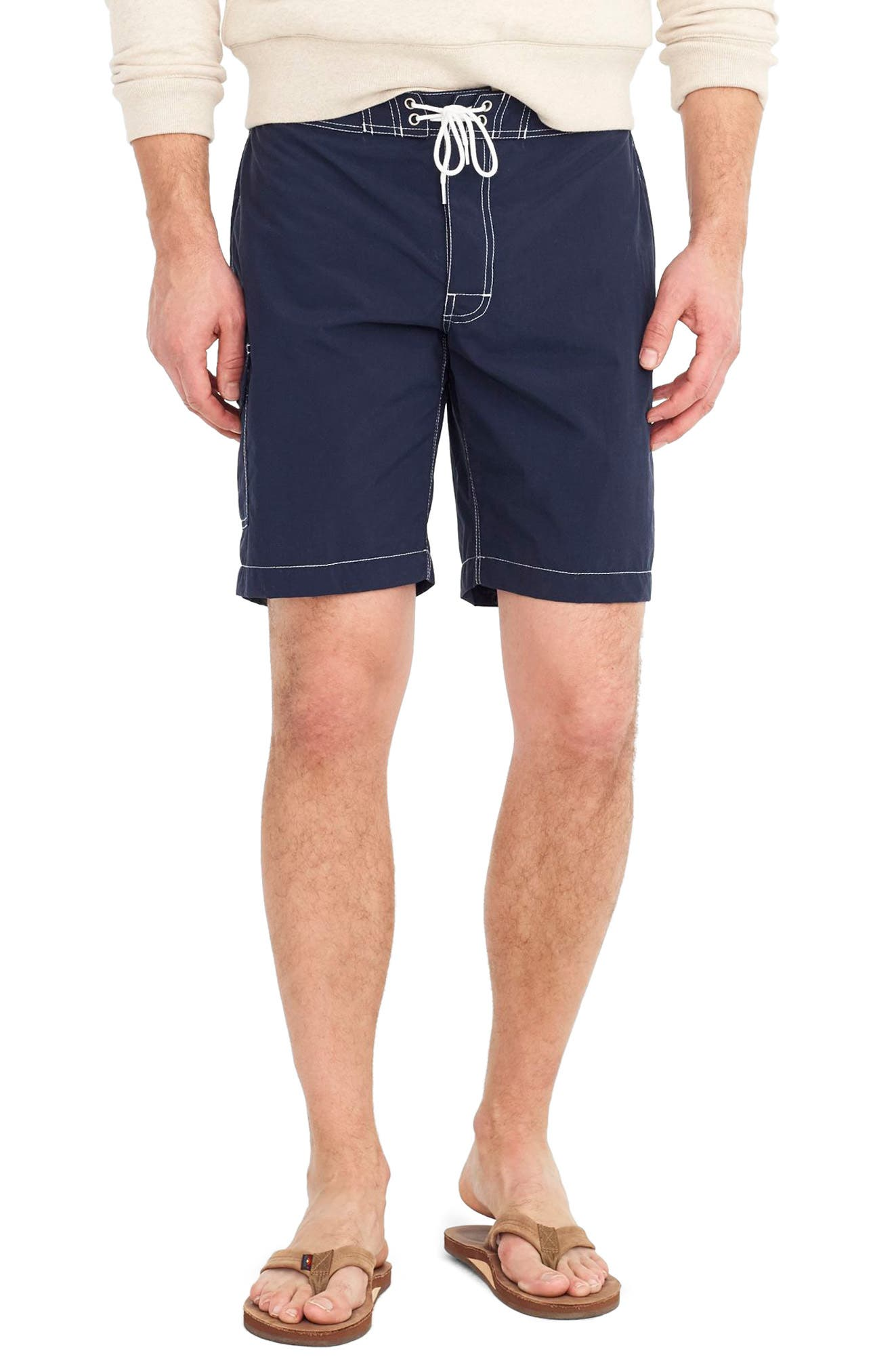 Solid Swim Trunks,                             Main thumbnail 1, color,                             400