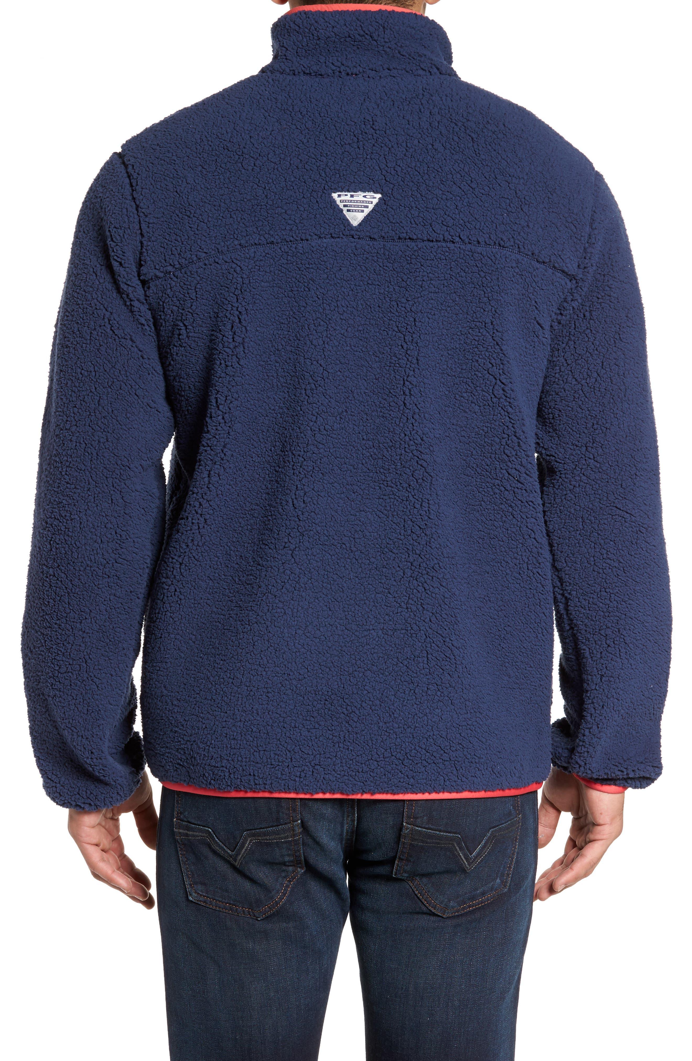 Harborside Fleece Jacket,                             Alternate thumbnail 9, color,