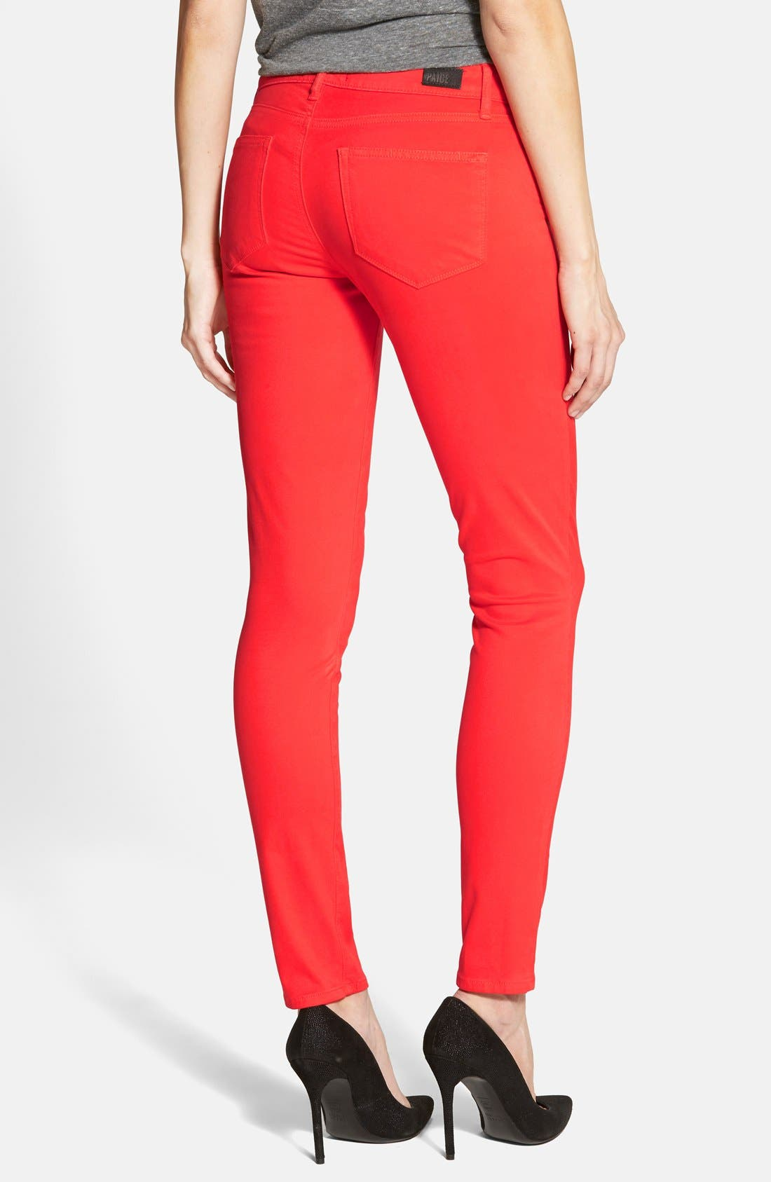 Denim 'Verdugo' Ultra Skinny Jeans,                             Alternate thumbnail 3, color,                             600