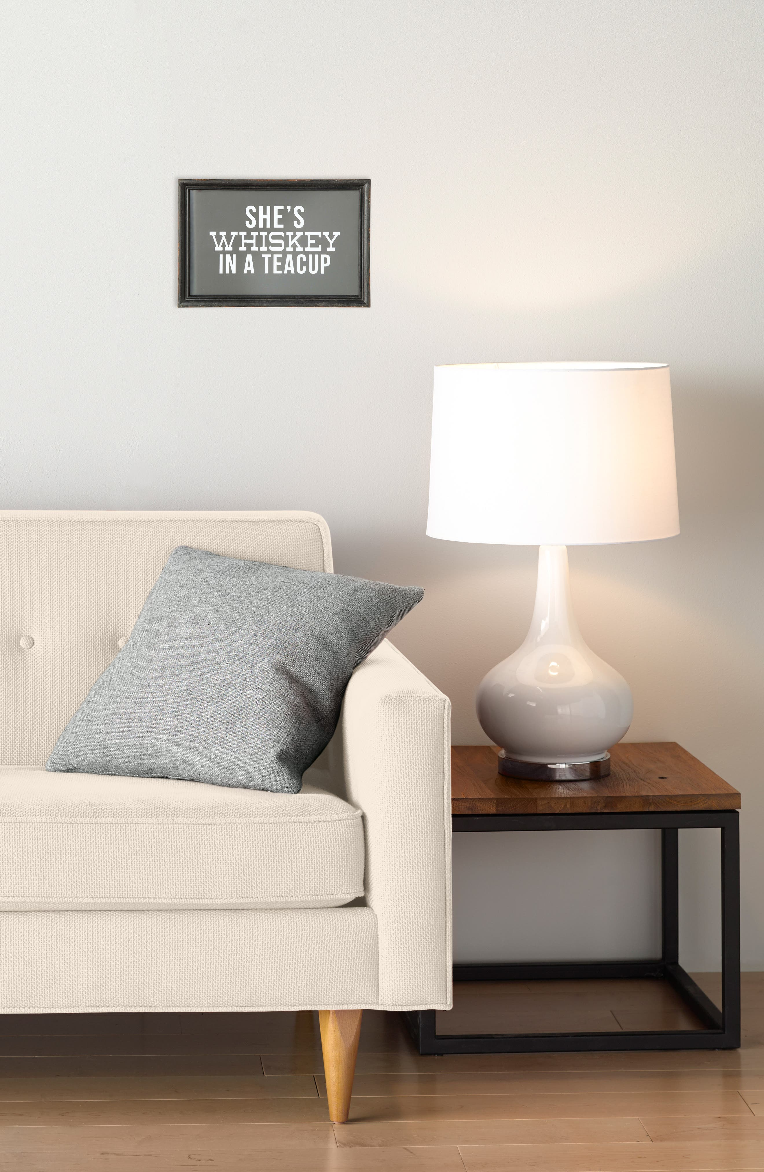 CREATIVE CO-OP,                             Whiskey in a Tea Cup Wall Art,                             Alternate thumbnail 2, color,                             001