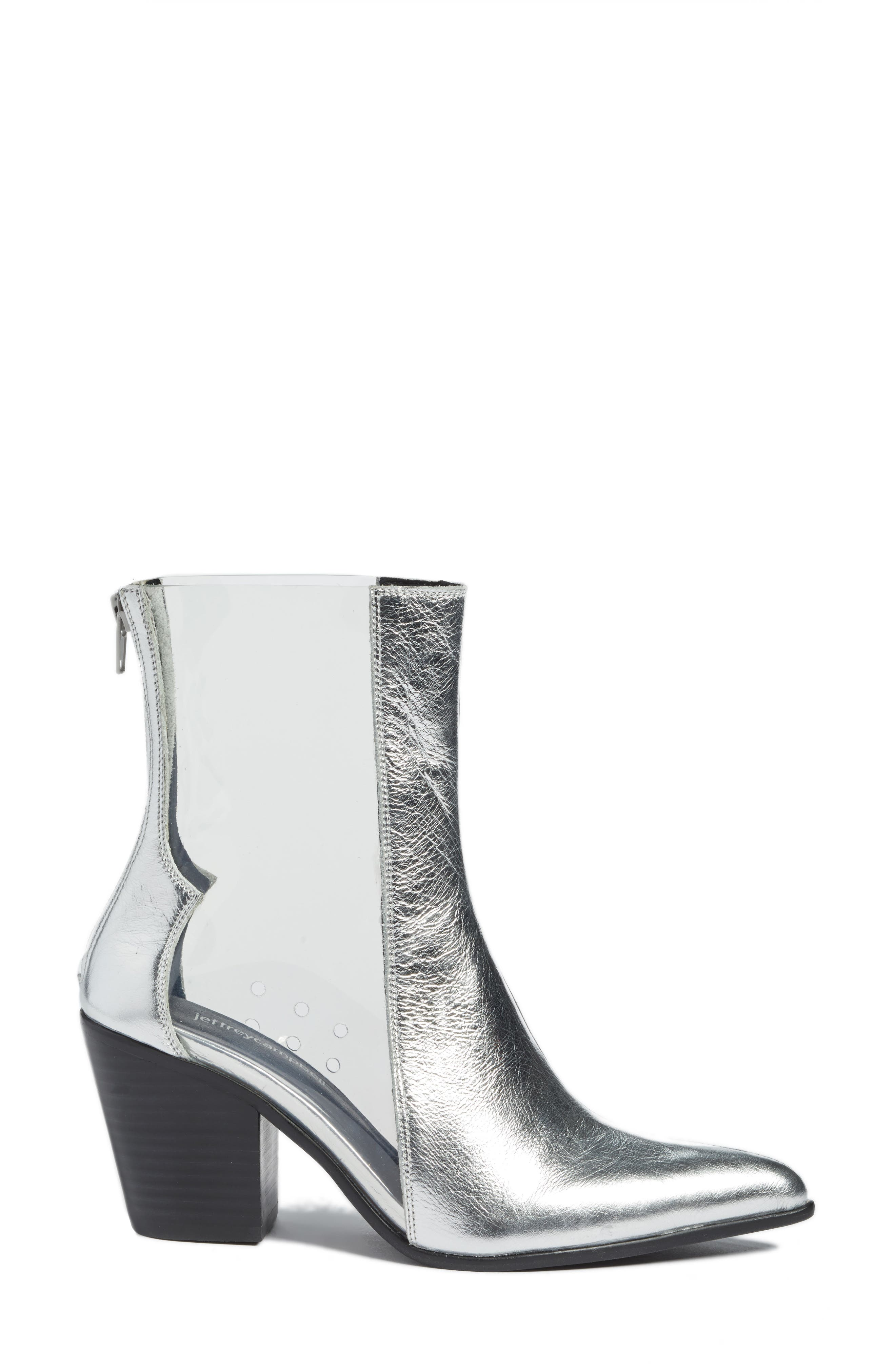Aliases Boot,                             Alternate thumbnail 3, color,                             SILVER LEATHER