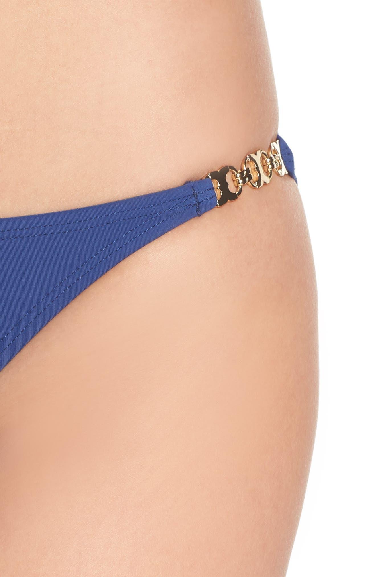 Gemini Link Bikini Bottoms,                             Alternate thumbnail 5, color,