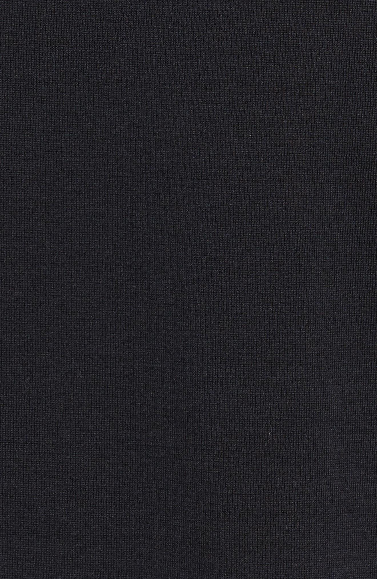 KJ Chalk Stripe Polo,                             Alternate thumbnail 5, color,                             001