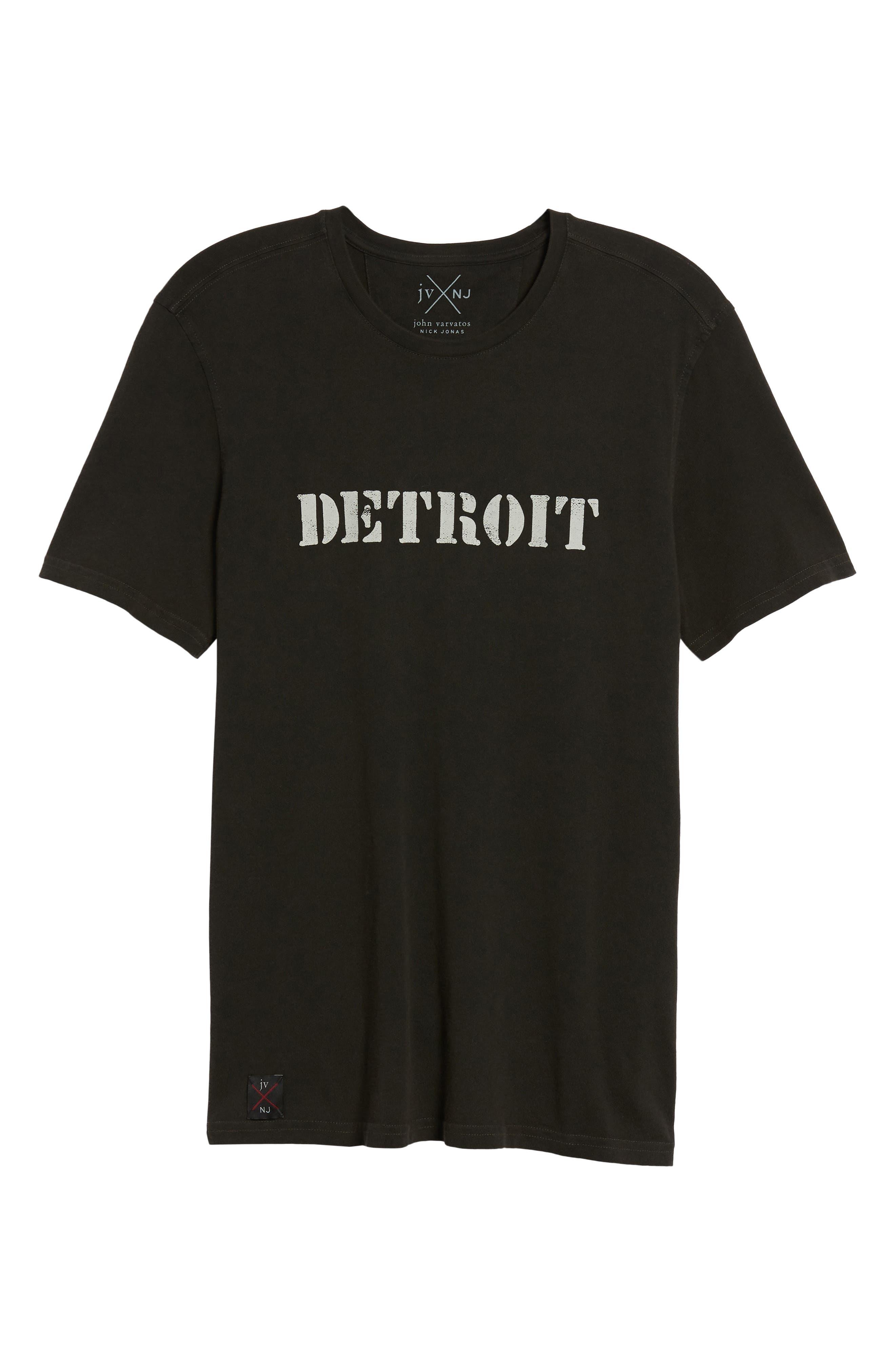 JOHN VARVATOS STAR USA,                             John Varvatos x Nick Jonas Rock City Graphic T-Shirt,                             Alternate thumbnail 6, color,                             001