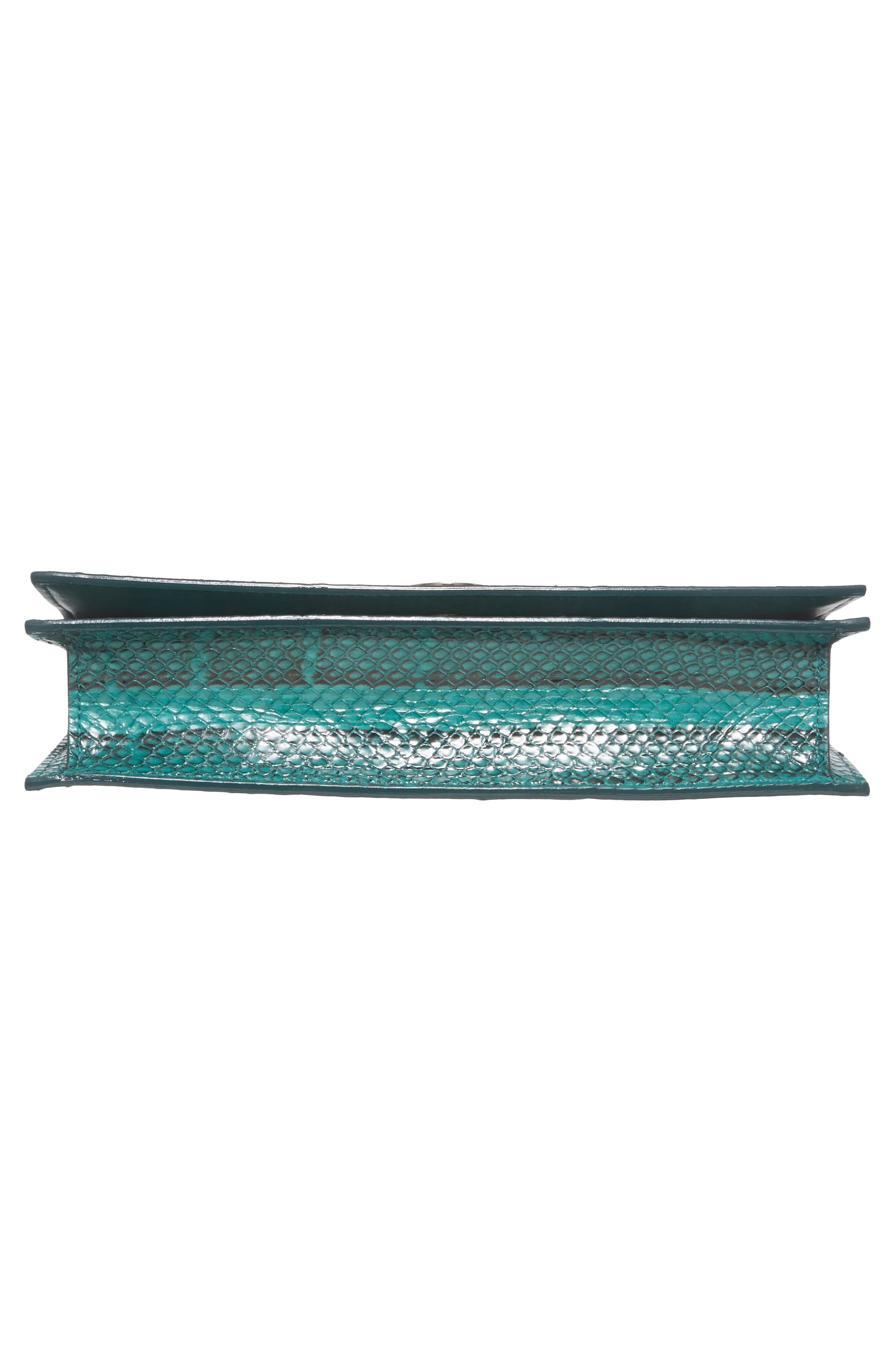 Fie Genuine Snakeskin Clutch,                             Alternate thumbnail 6, color,                             300