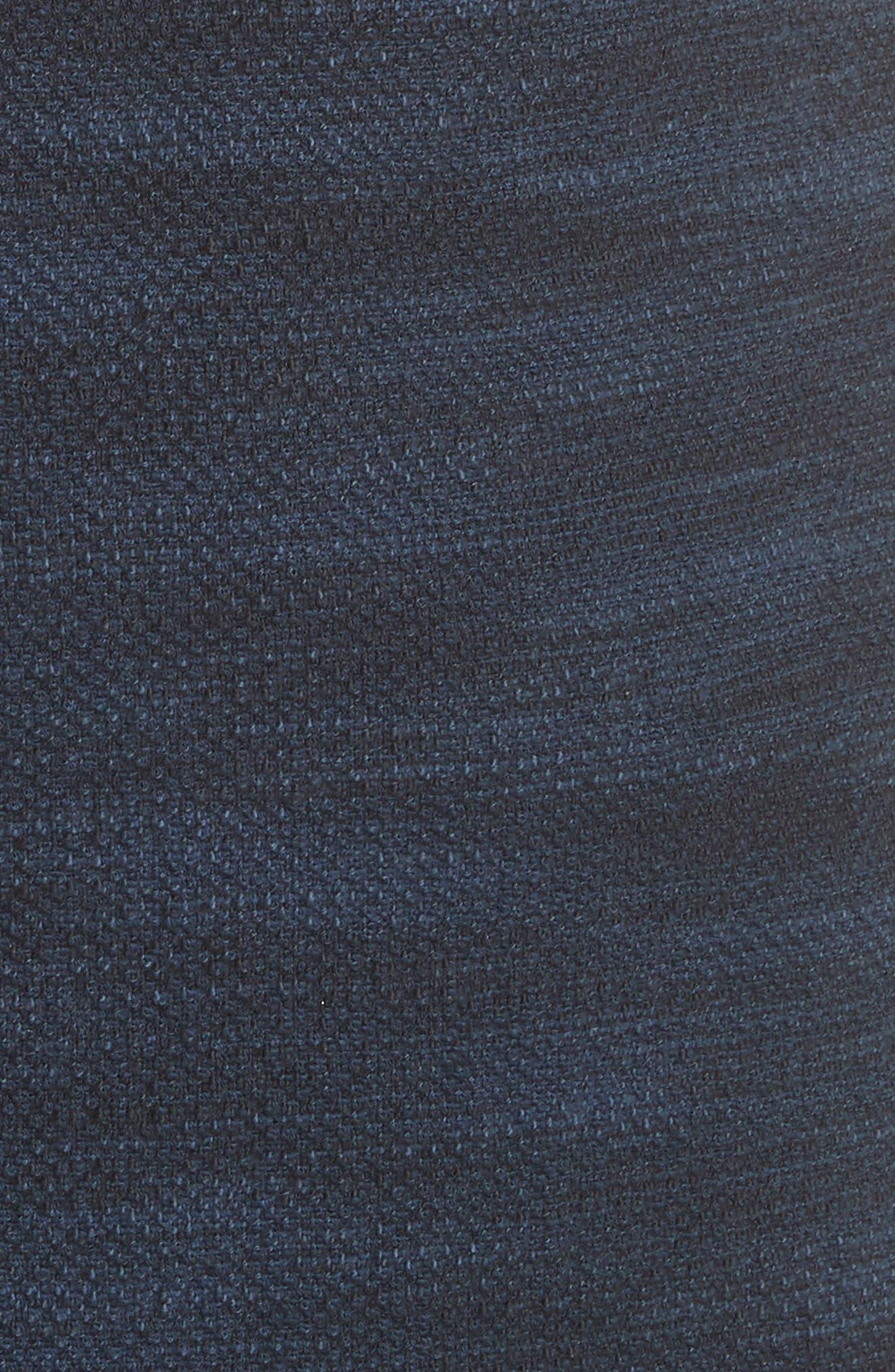 Ruffle Tweed Dress,                             Alternate thumbnail 6, color,                             482