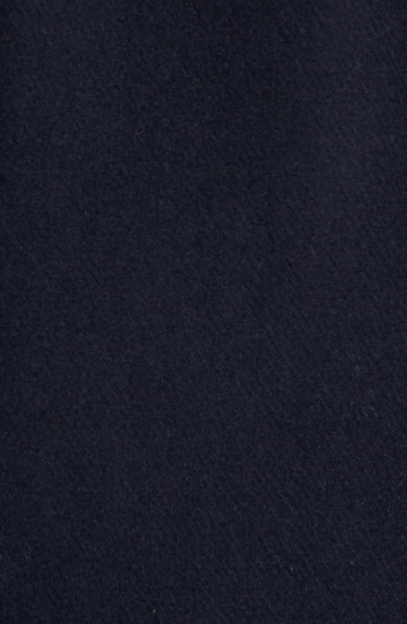 Wool Blend Peacoat,                             Alternate thumbnail 6, color,                             410