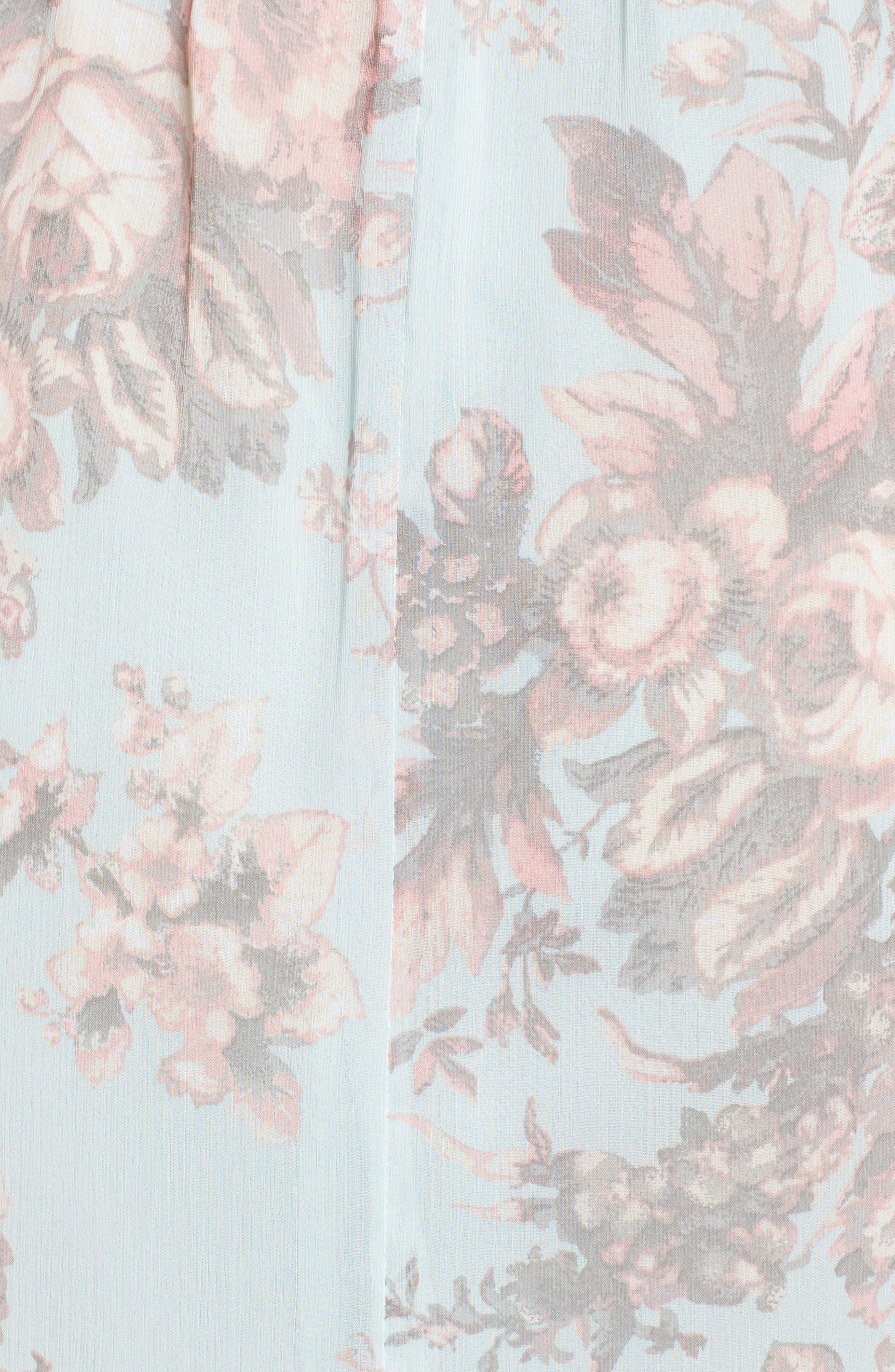 Wrap Midi Dress,                             Alternate thumbnail 5, color,