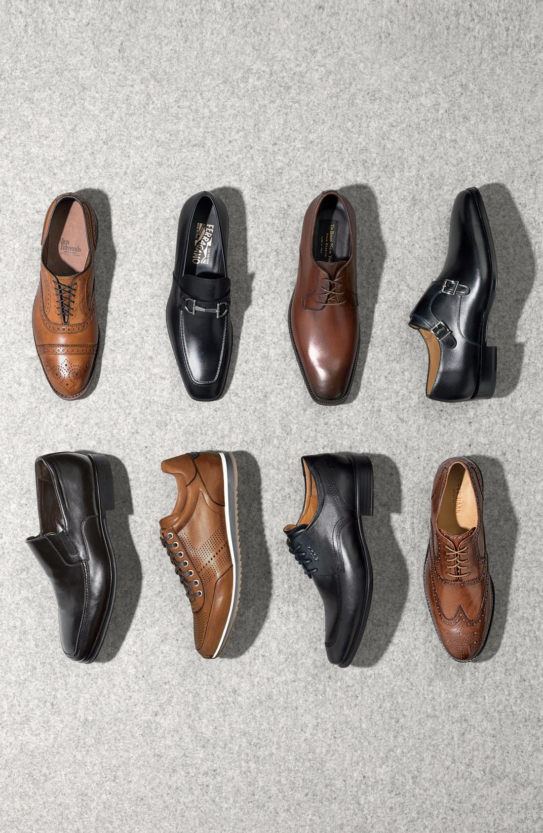 'Cambridge' Wingtip,                             Alternate thumbnail 6, color,                             BLACK