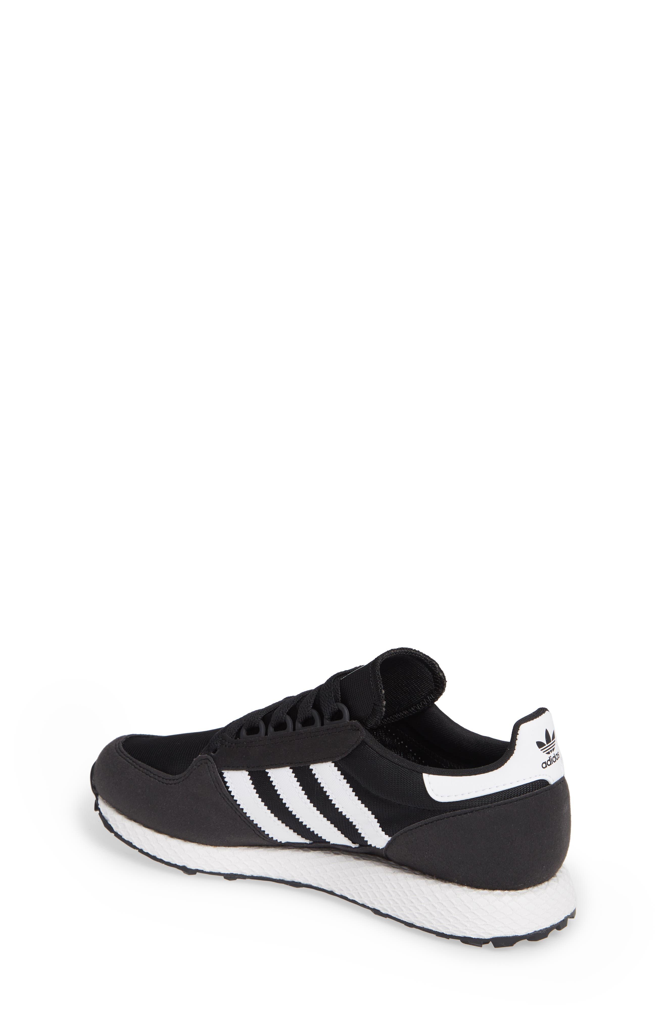 Forest Grove Sneaker,                             Alternate thumbnail 2, color,                             BLACK/ WHITE/ BLACK