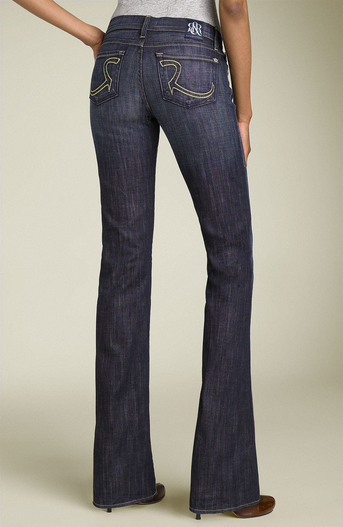 ROCK & REPUBLIC,                             'Kasandra' Bootcut Stretch Jeans,                             Main thumbnail 1, color,                             400