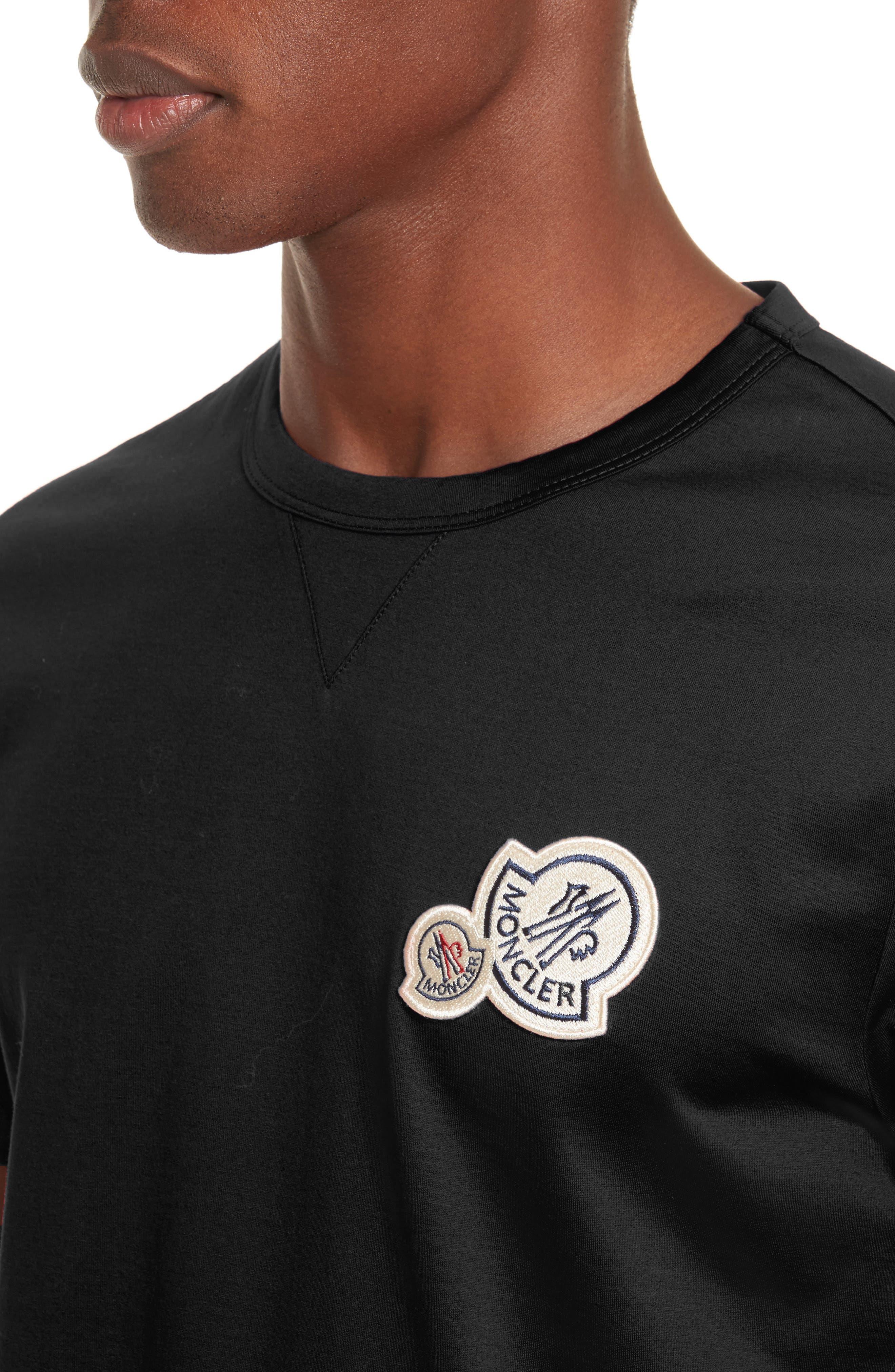 Patch T-Shirt,                             Alternate thumbnail 4, color,                             001