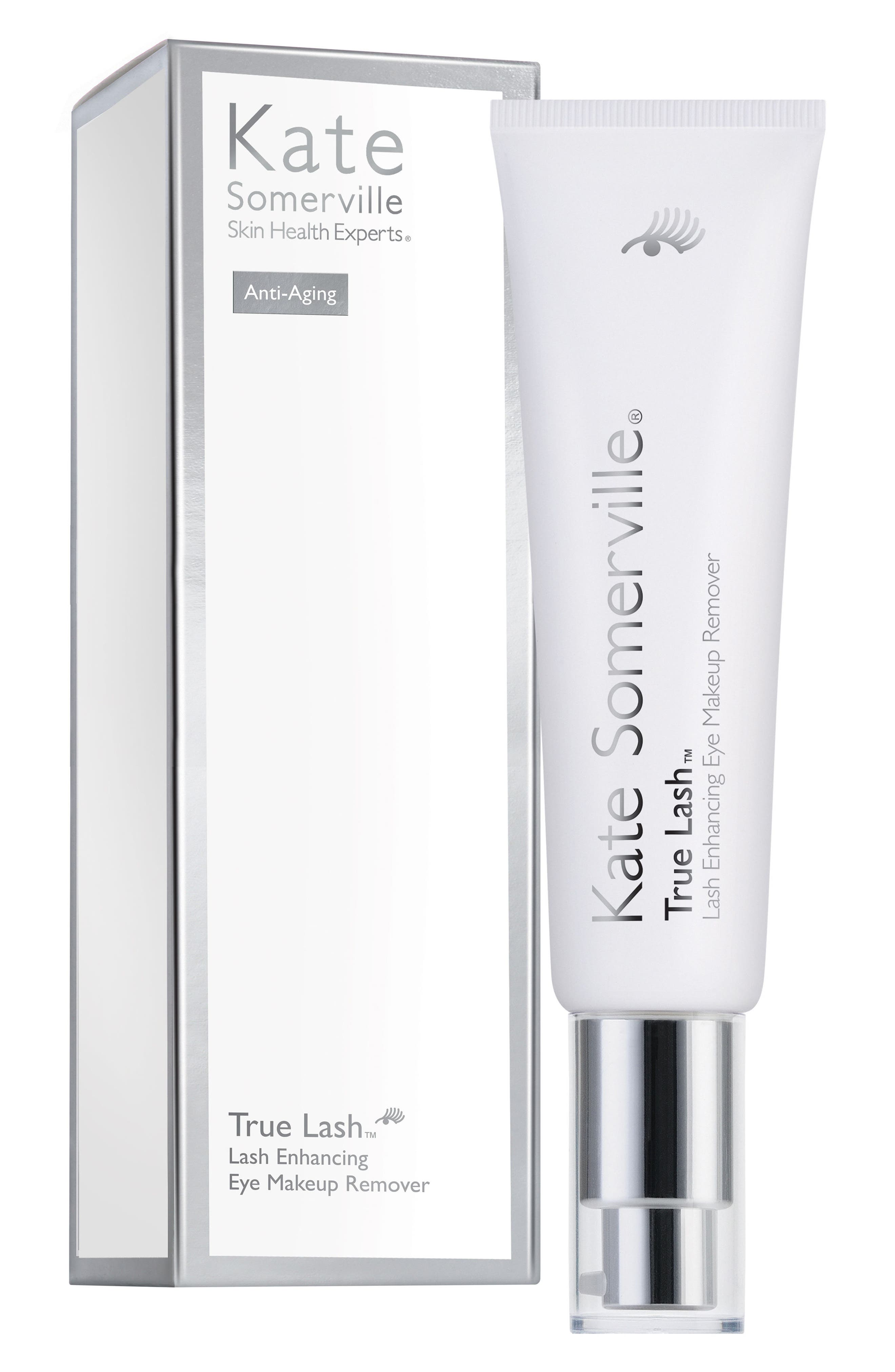 'True Lash<sup>™</sup>' Lash Enhancing Eye Makeup Remover,                             Alternate thumbnail 2, color,                             000