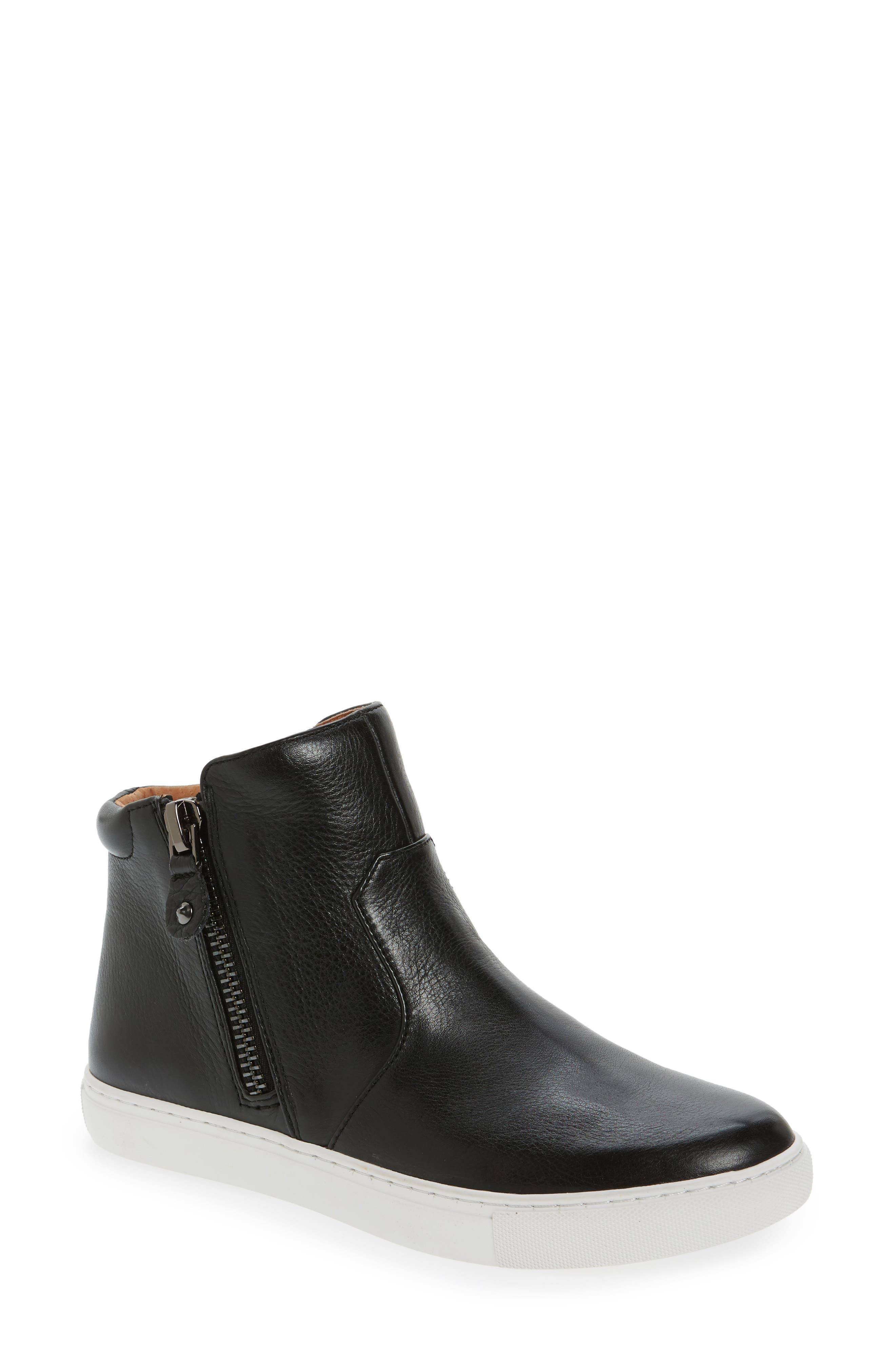 Carole Zip Sneaker,                         Main,                         color, 001