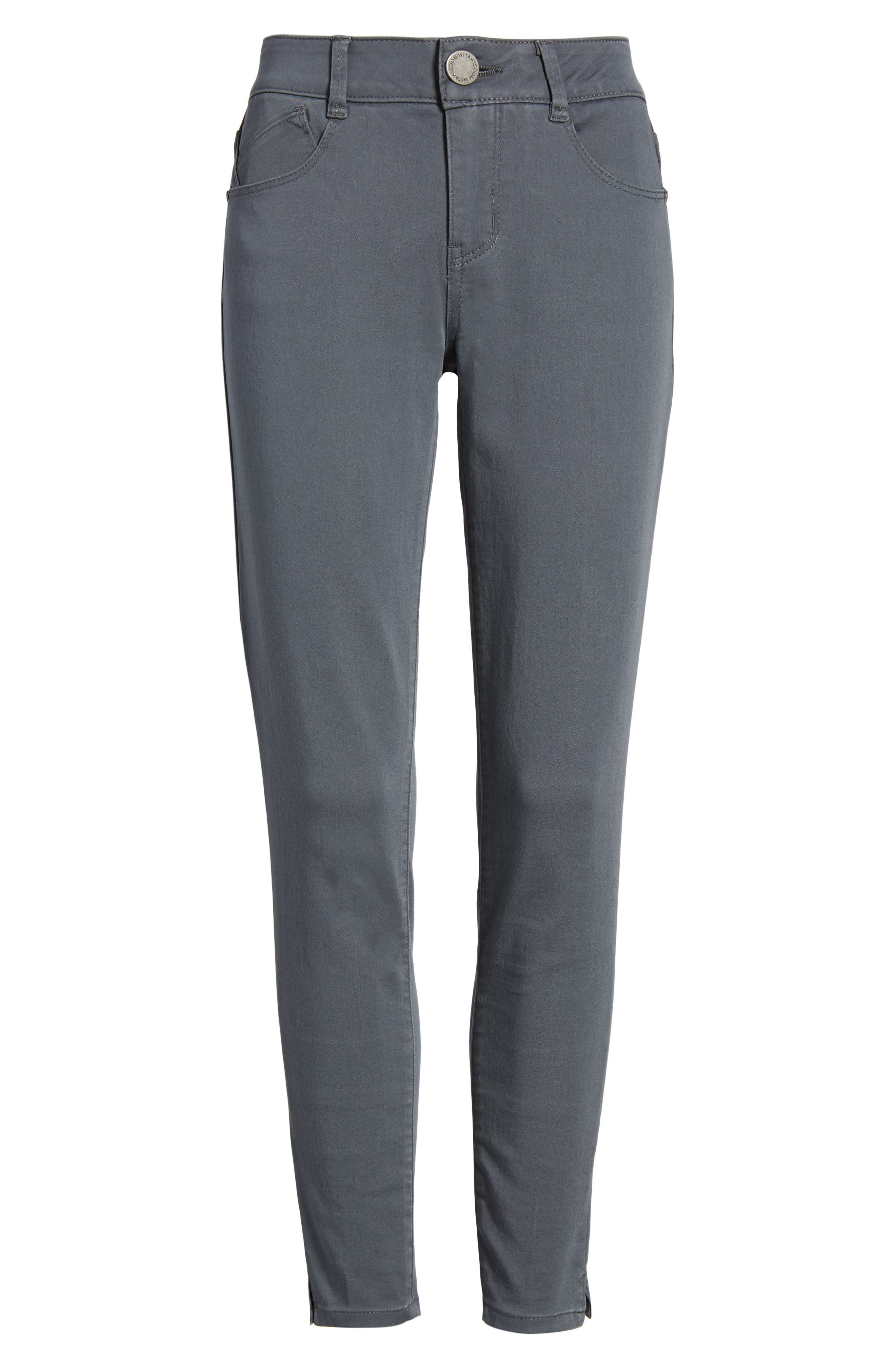 Ab-solution Stretch Twill Skinny Pants,                             Alternate thumbnail 6, color,                             050